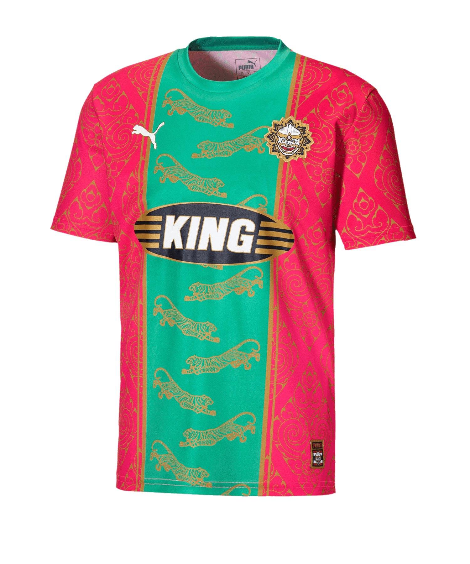 PUMA City Influence Bangkok T-Shirt Rot F02 - rot