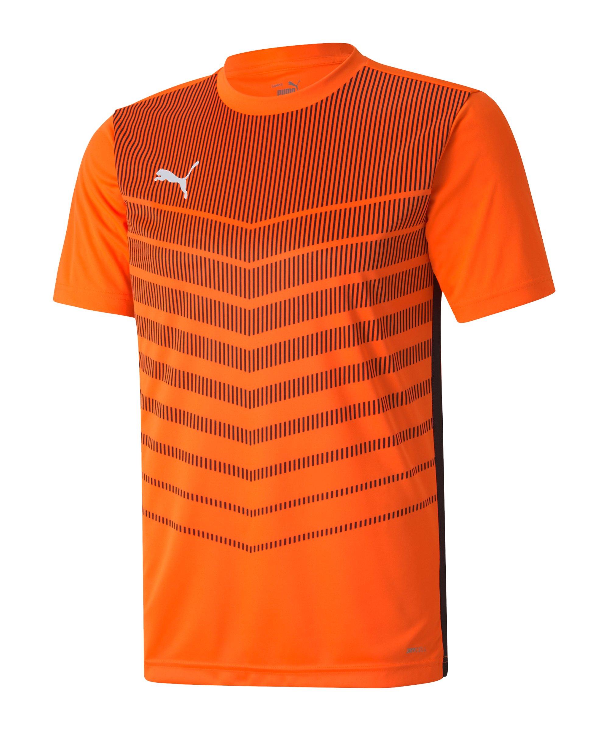 PUMA ftblPLAY Graphic T-Shirt Orange F20 - orange