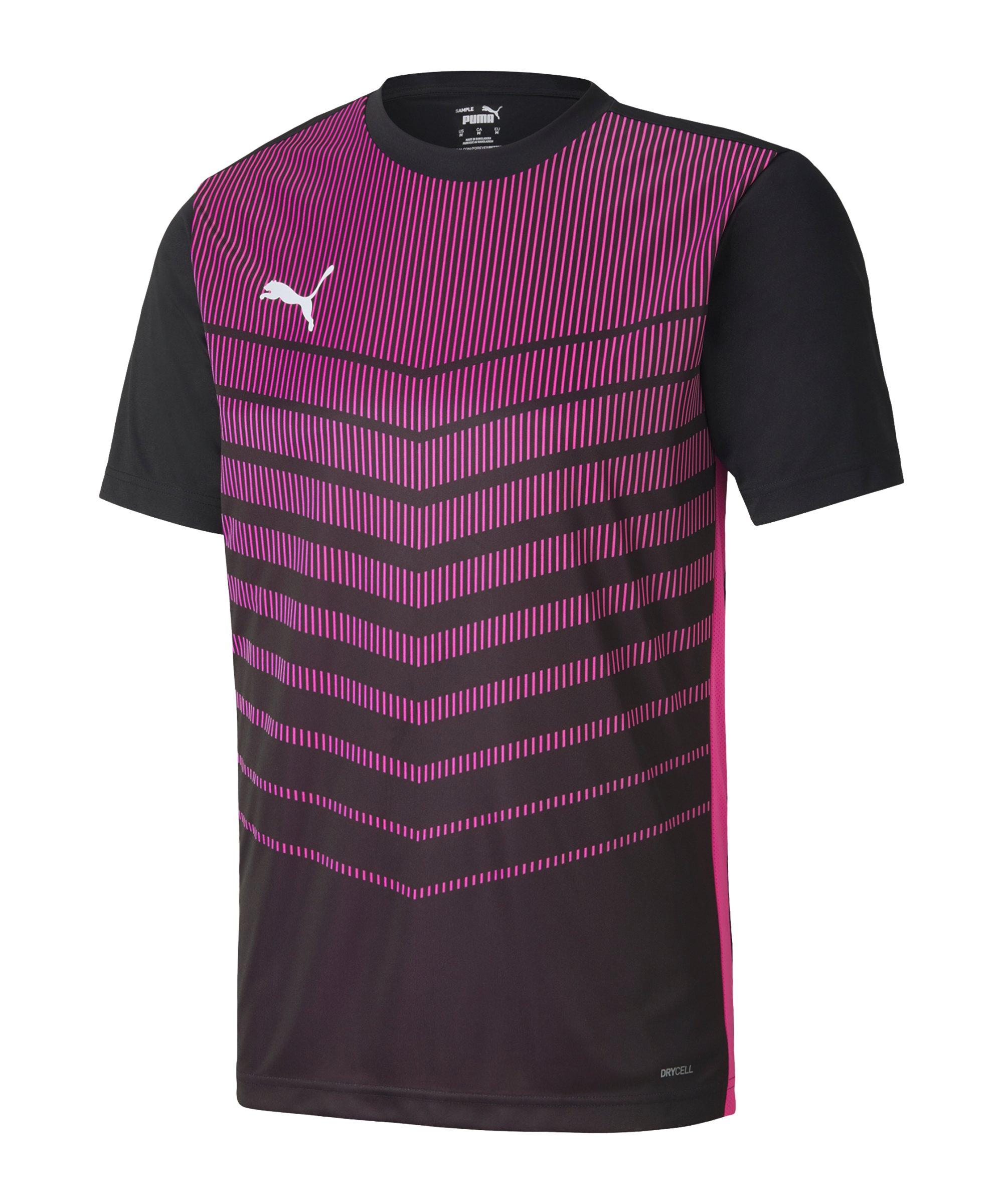 PUMA ftblPLAY Graphic T-Shirt Schwarz F21 - schwarz