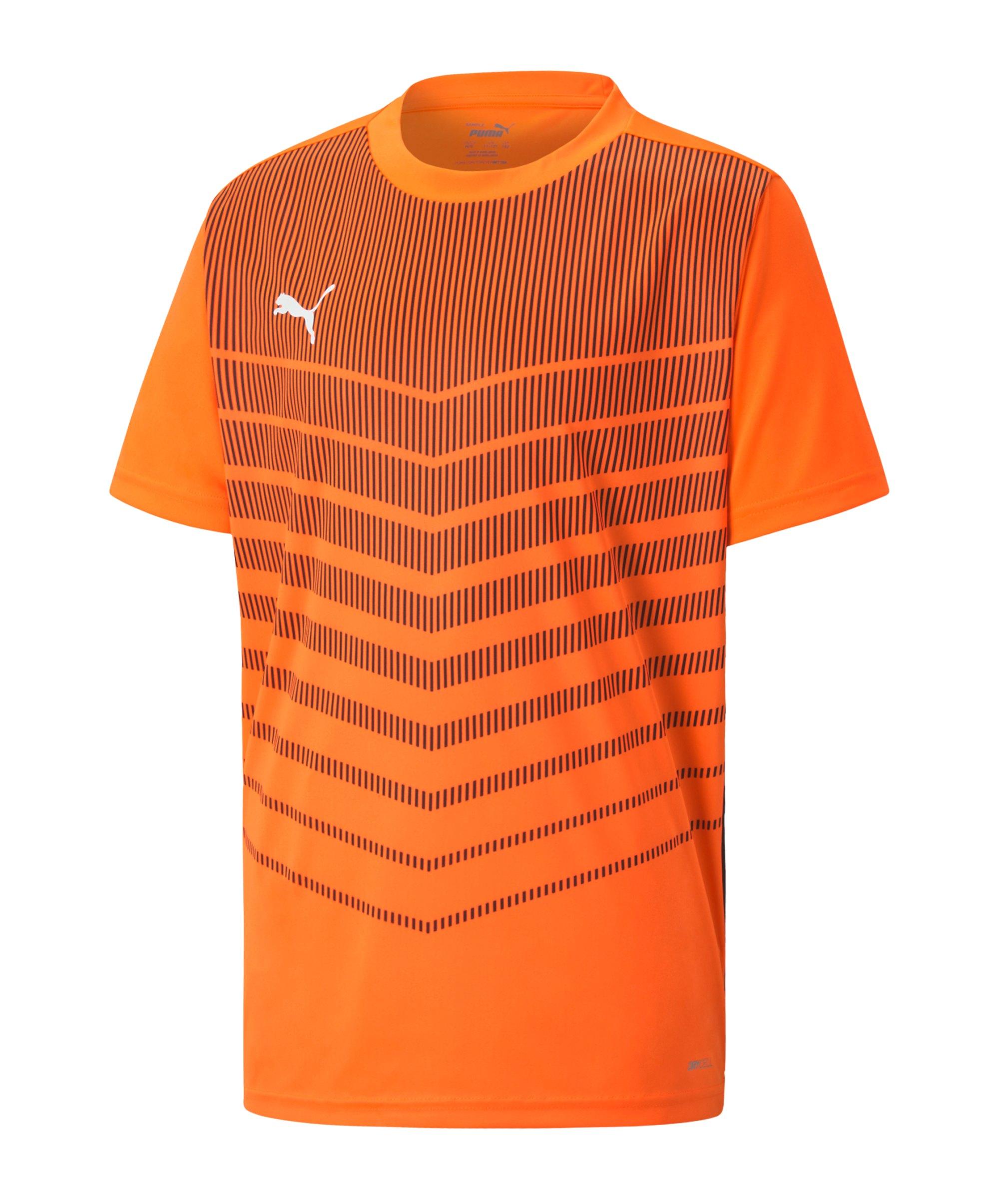 PUMA ftblPLAY Graphic T-Shirt Kids Orange F20 - orange