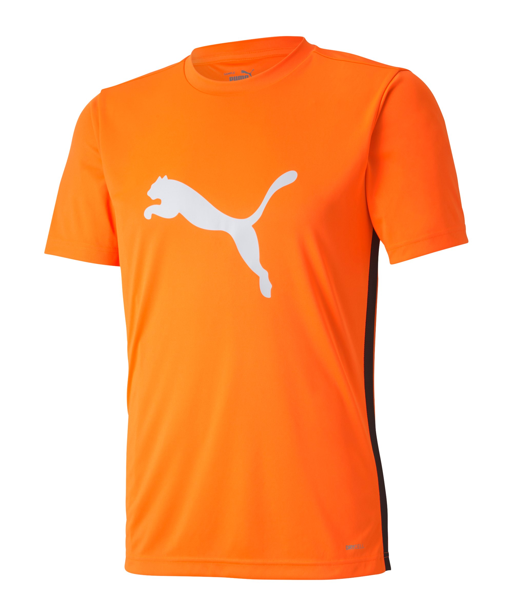 PUMA ftblPLAY Logo T-Shirt Orange F20 - orange