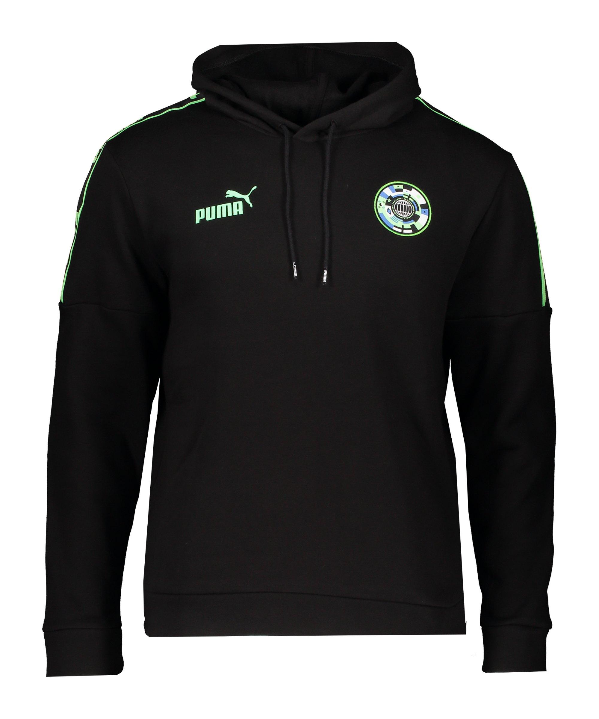 PUMA 365 Football Kapuzensweatshirt Schwarz F01 - schwarz