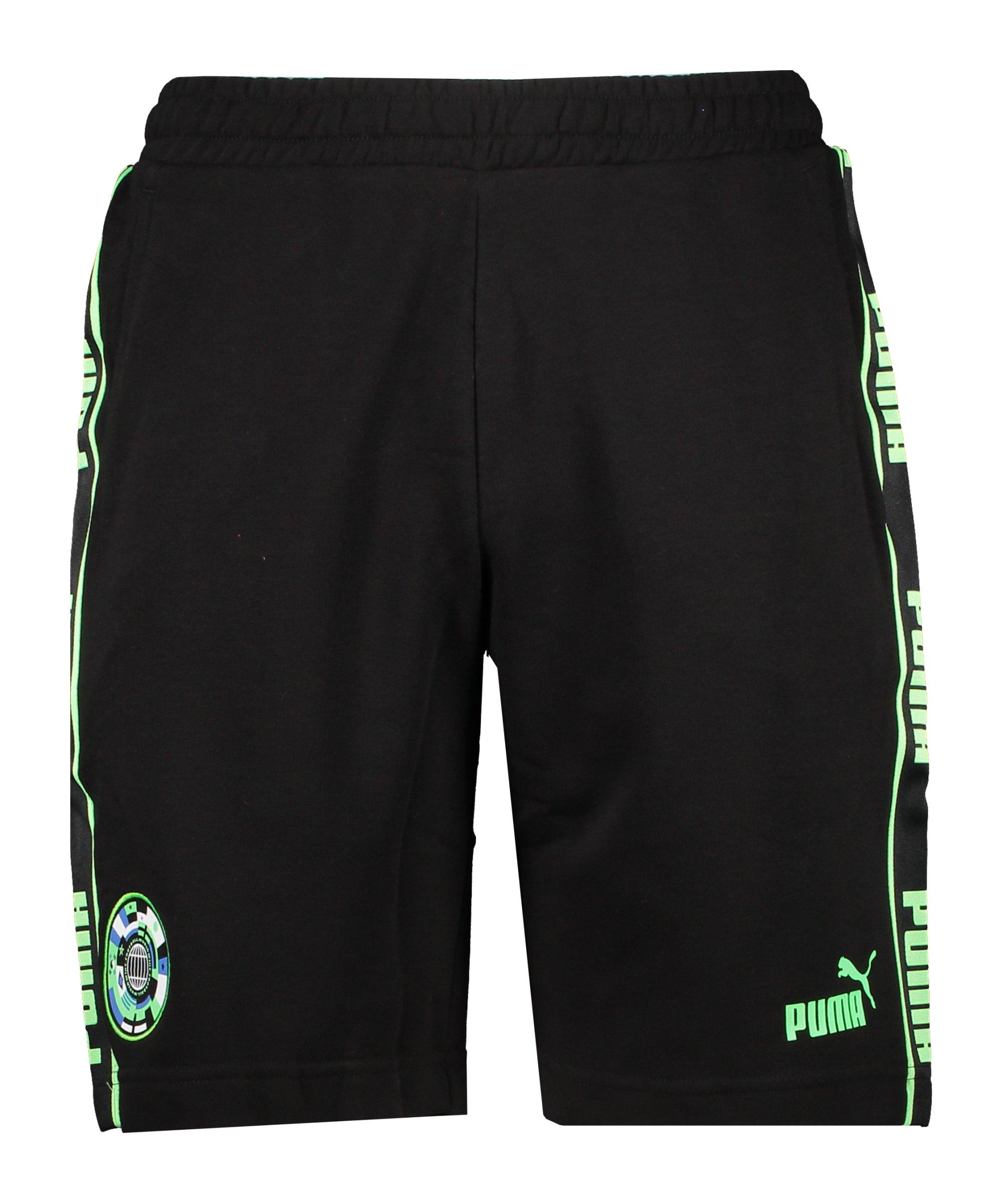 PUMA 365 Football Short Schwarz F01 - schwarz