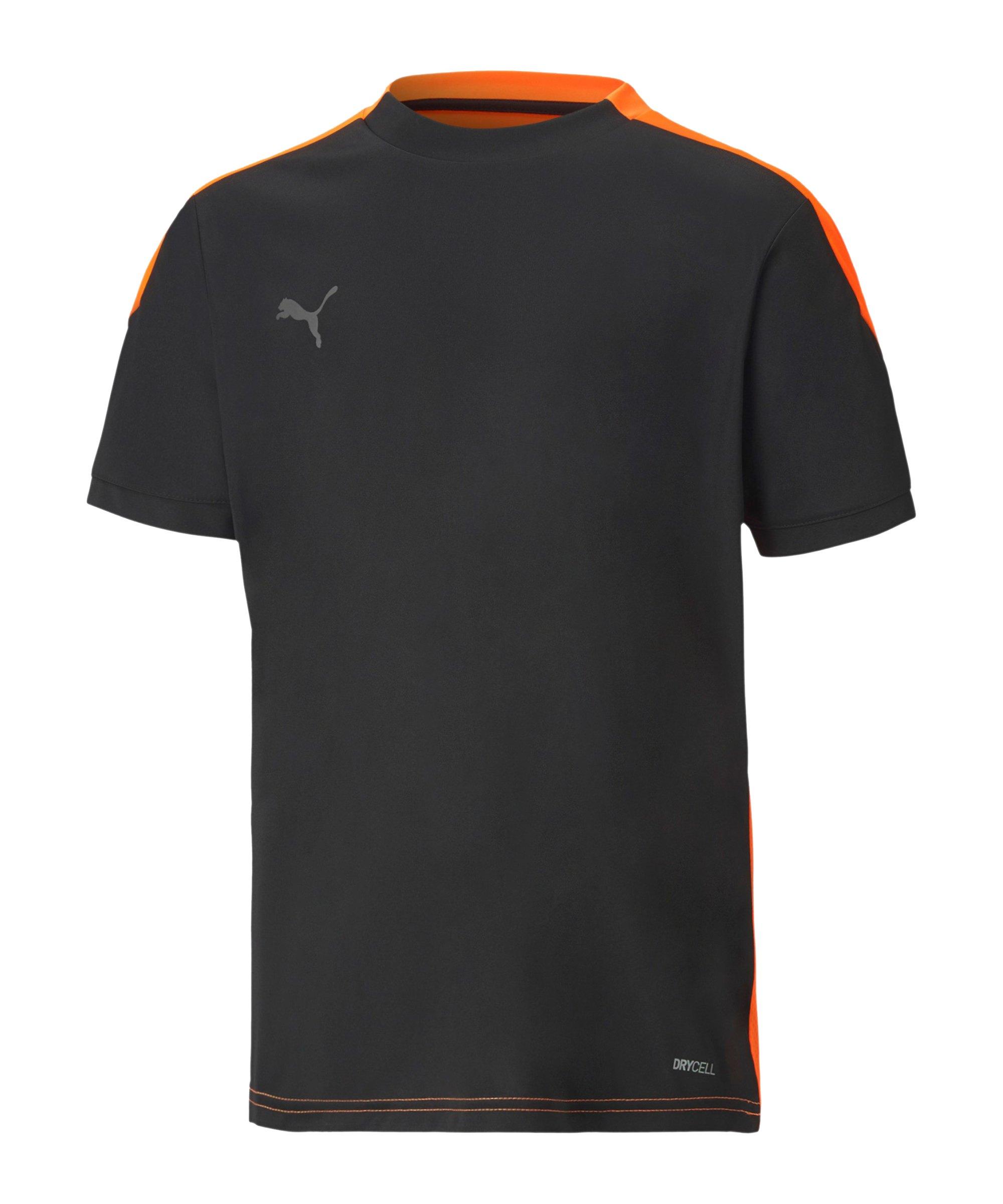 PUMA ftblNXT T-Shirt Kids Schwarz F01 - schwarz