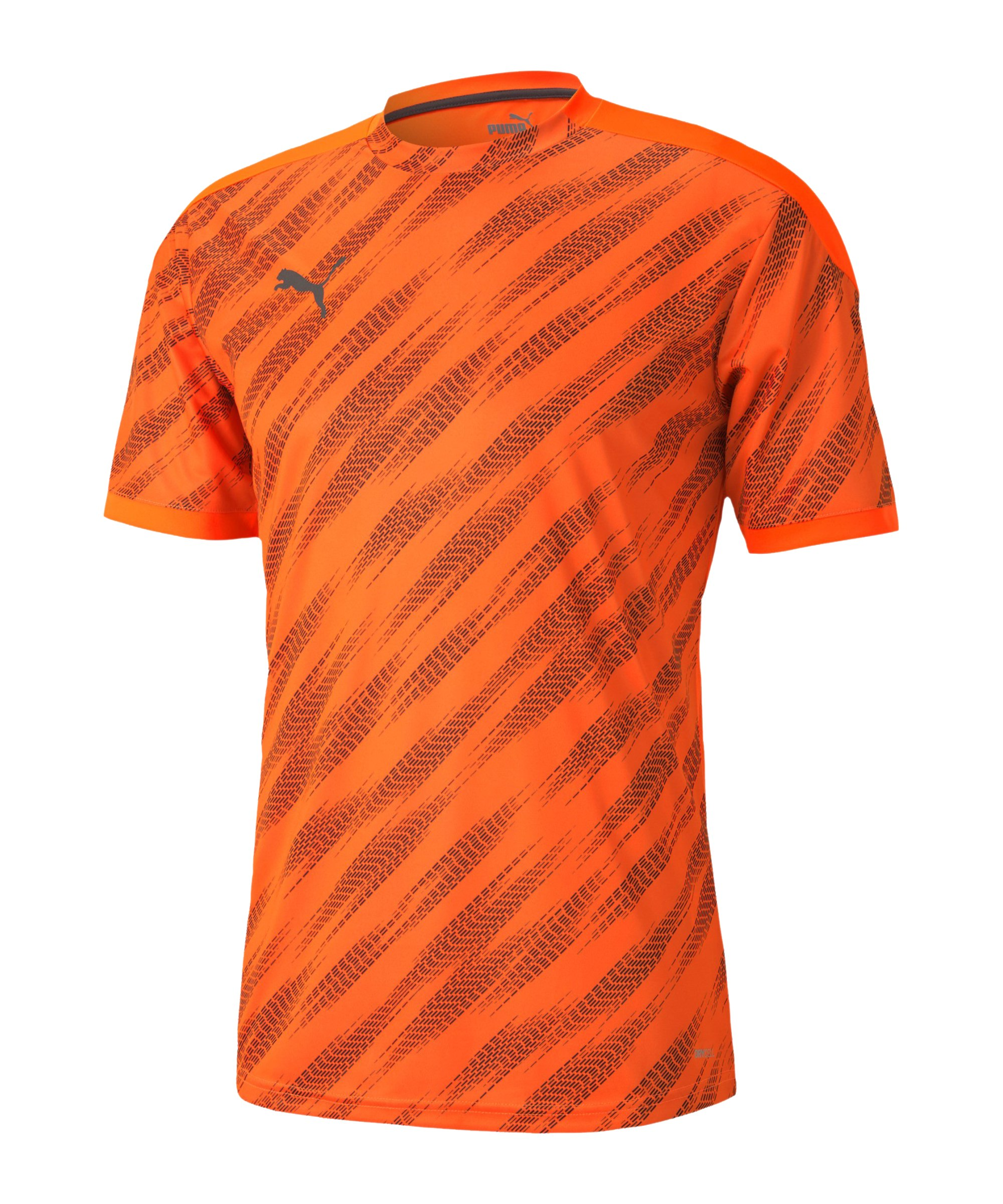 PUMA ftblNXT Graphic T-Shirt Orange F02 - orange