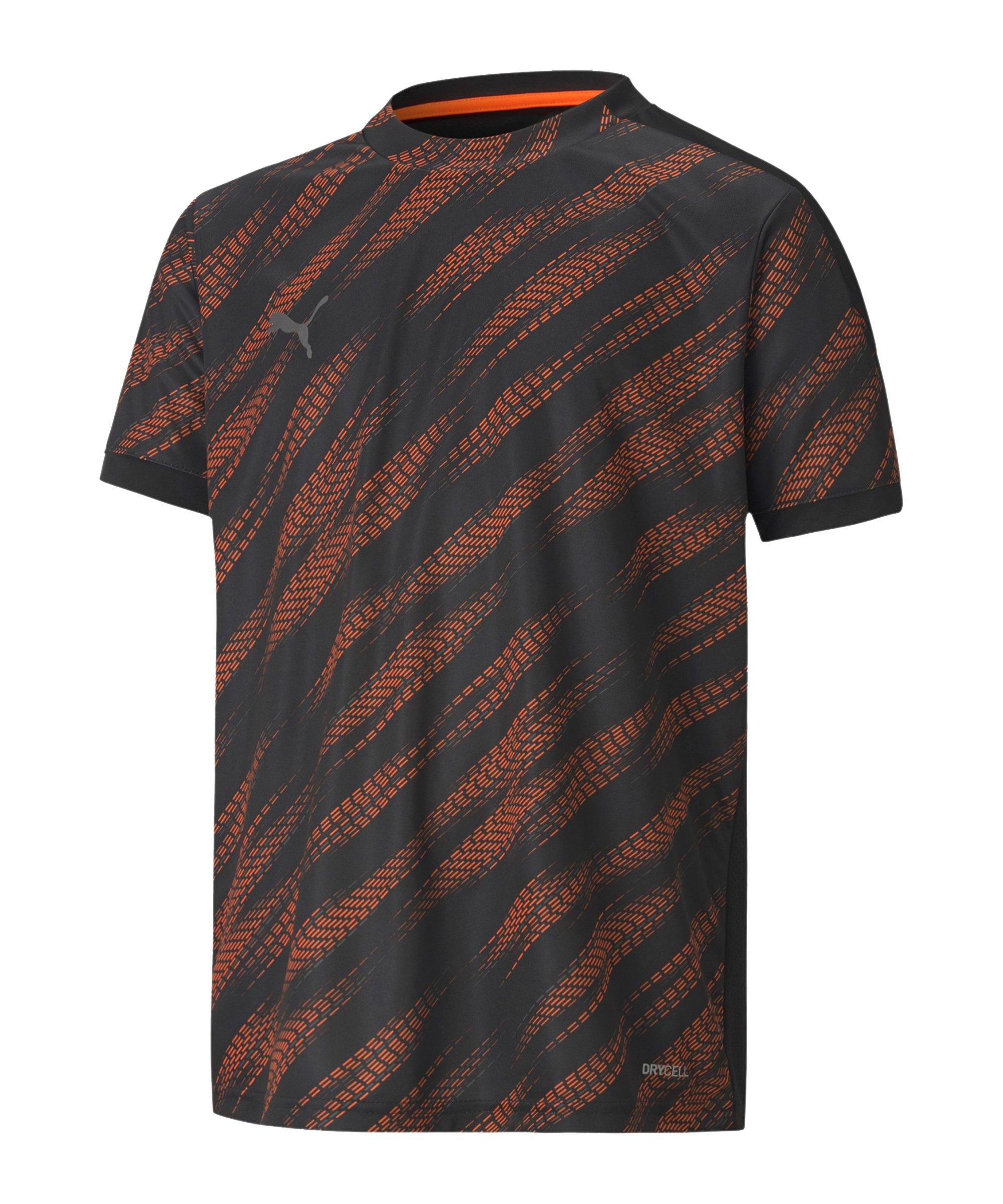 PUMA ftblNXT Graphic T-Shirt Kids Schwarz F01 - schwarz