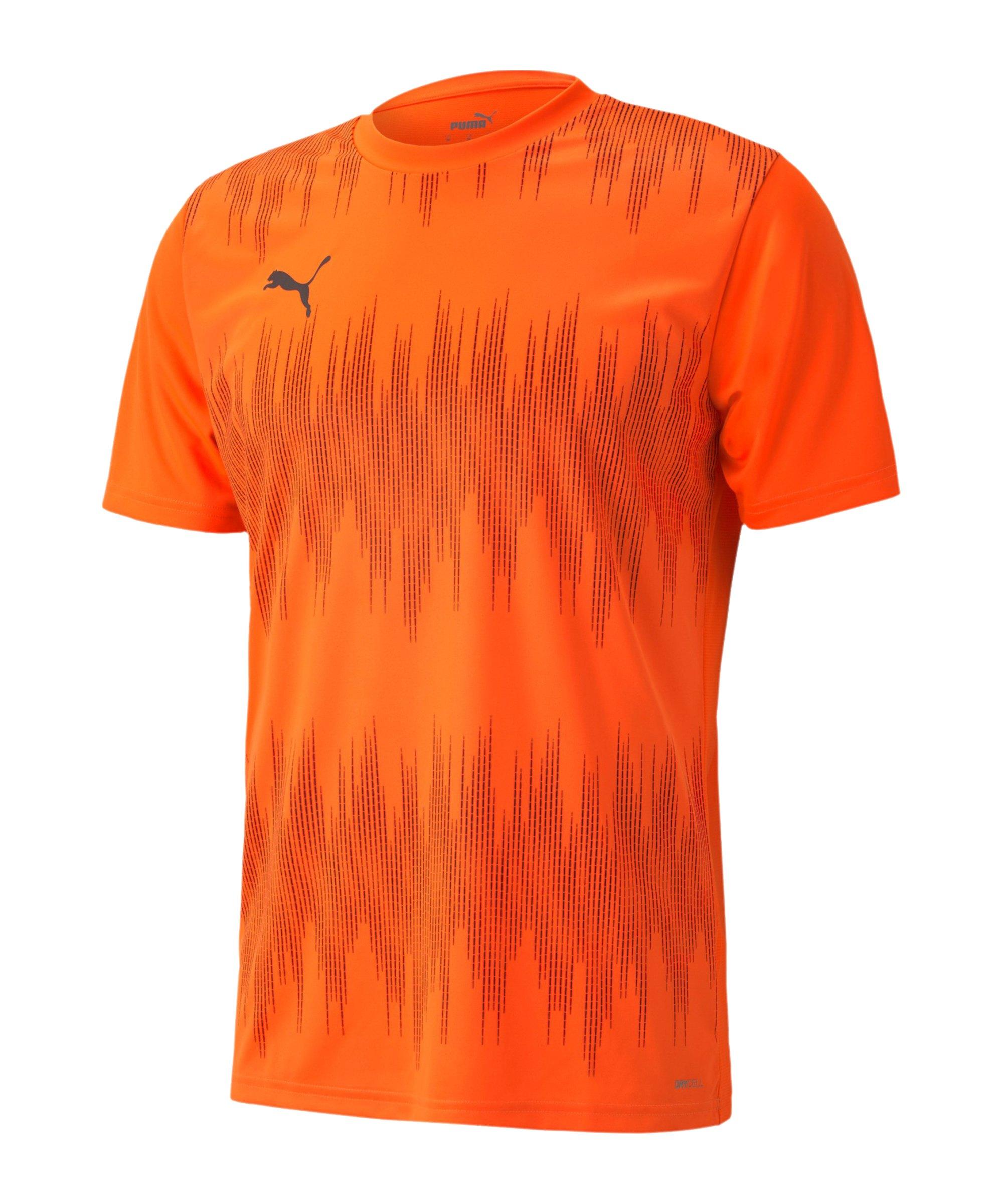 PUMA ftblNXT Graphic Core T-Shirt Orange F02 - orange