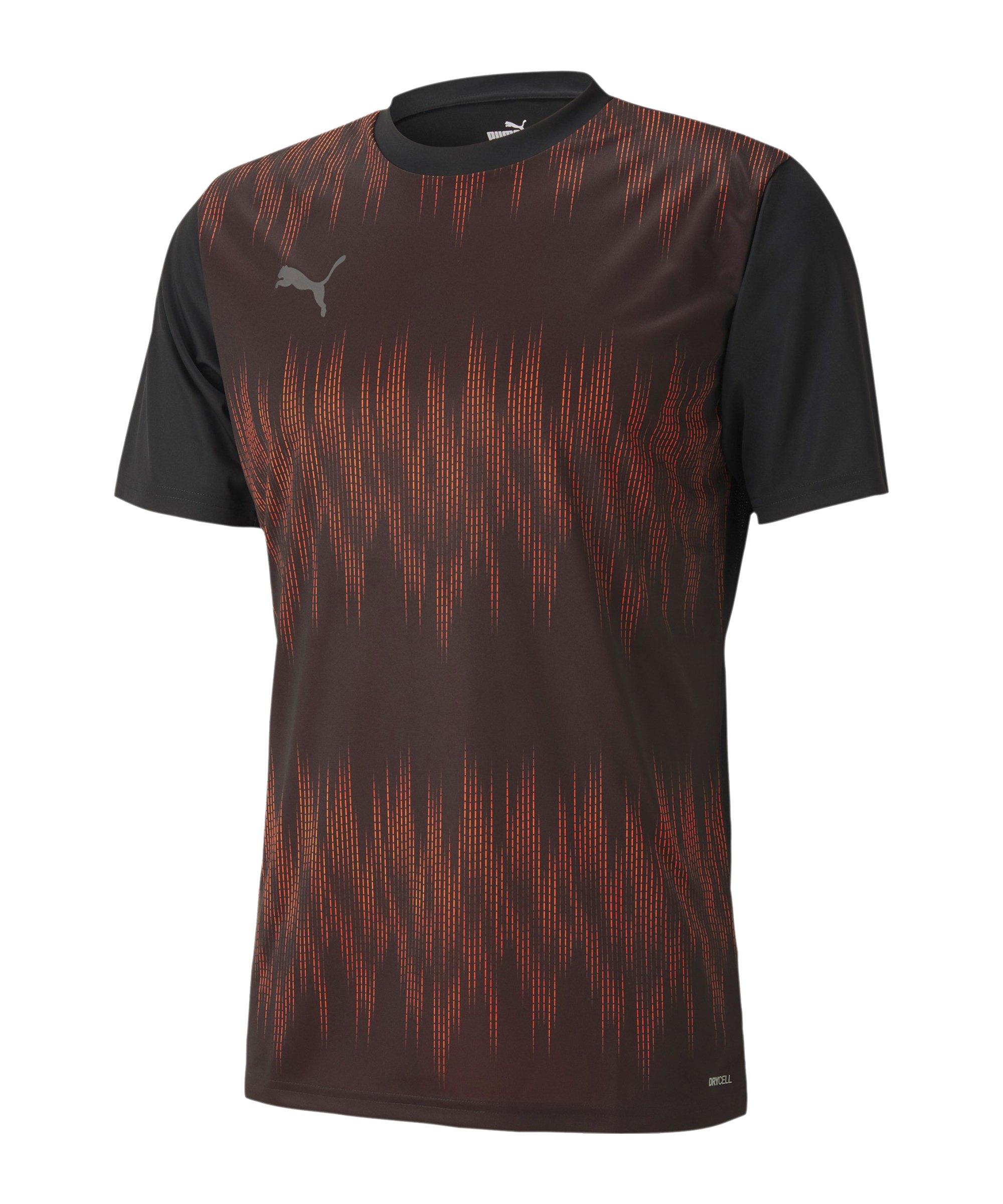 PUMA ftblNXT Graphic T-Shirt Core Schwarz F01 - schwarz