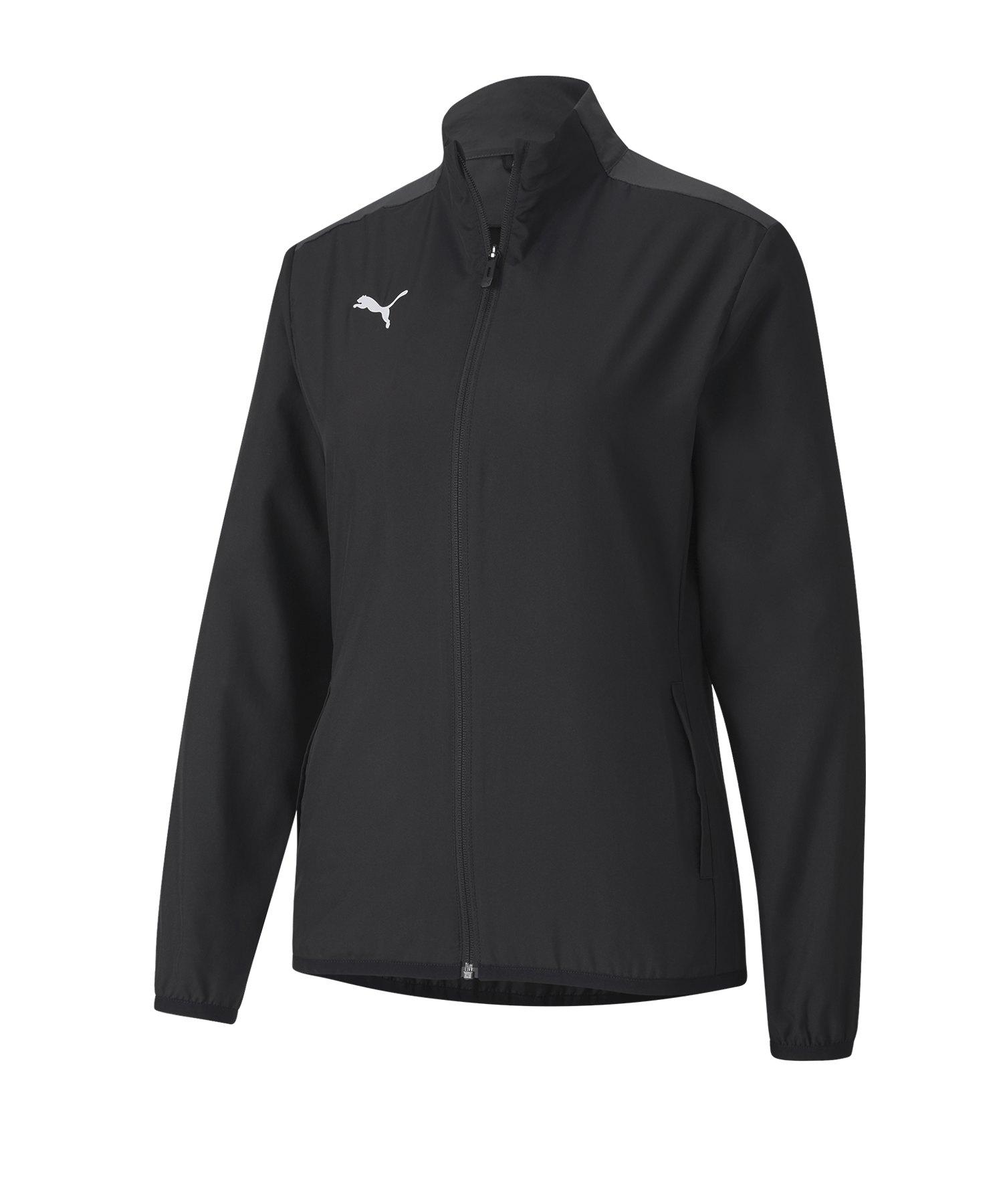 PUMA teamGOAL 23 Sideline Trainingsjacke Damen F03 - schwarz
