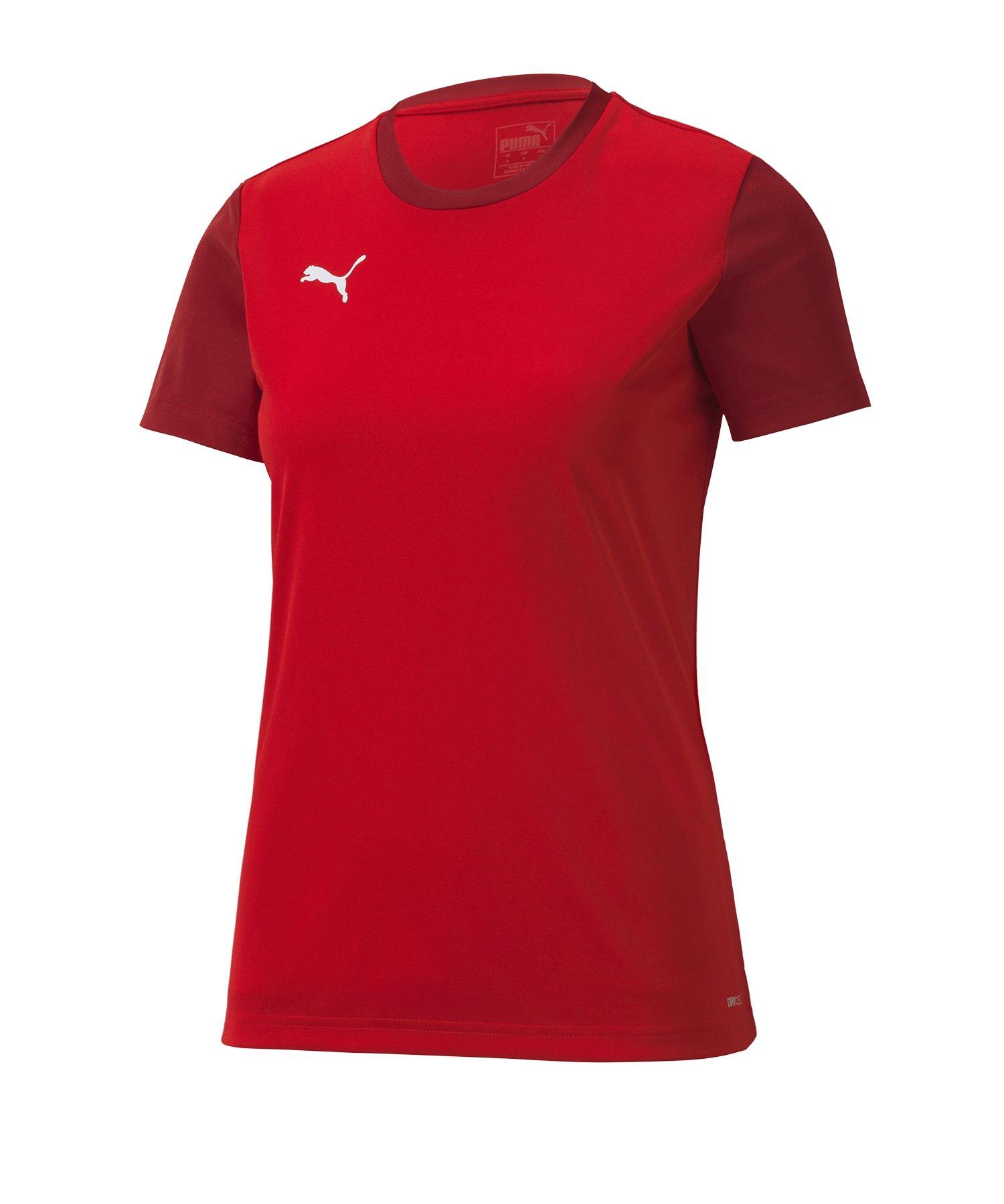 PUMA teamGOAL 23 Sideline Tee T-Shirt Damen F01 - rot