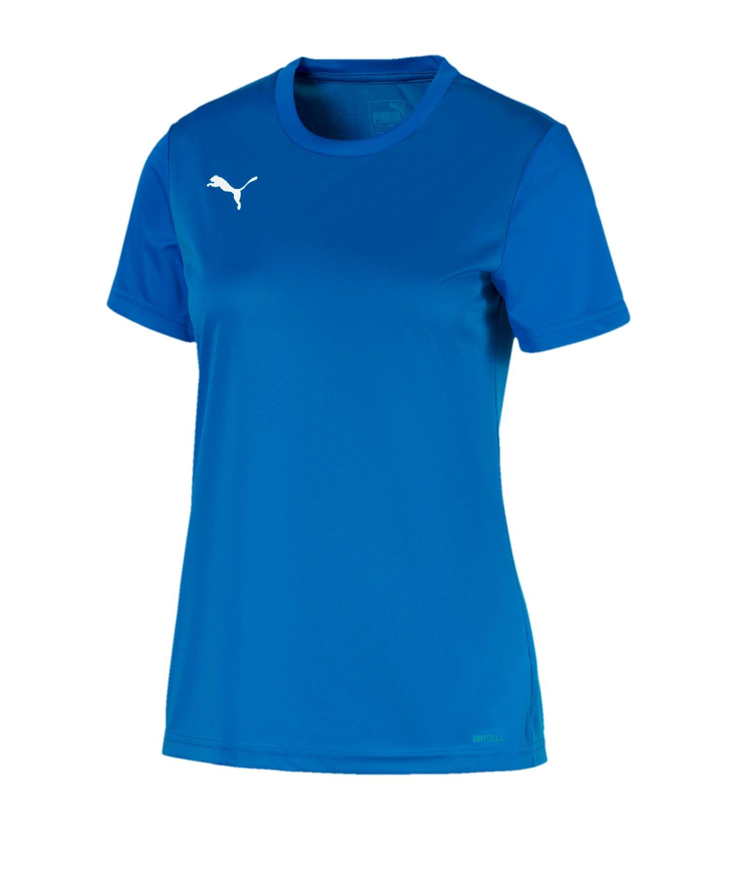 PUMA teamGOAL 23 Sideline Tee T-Shirt Damen F02 - blau