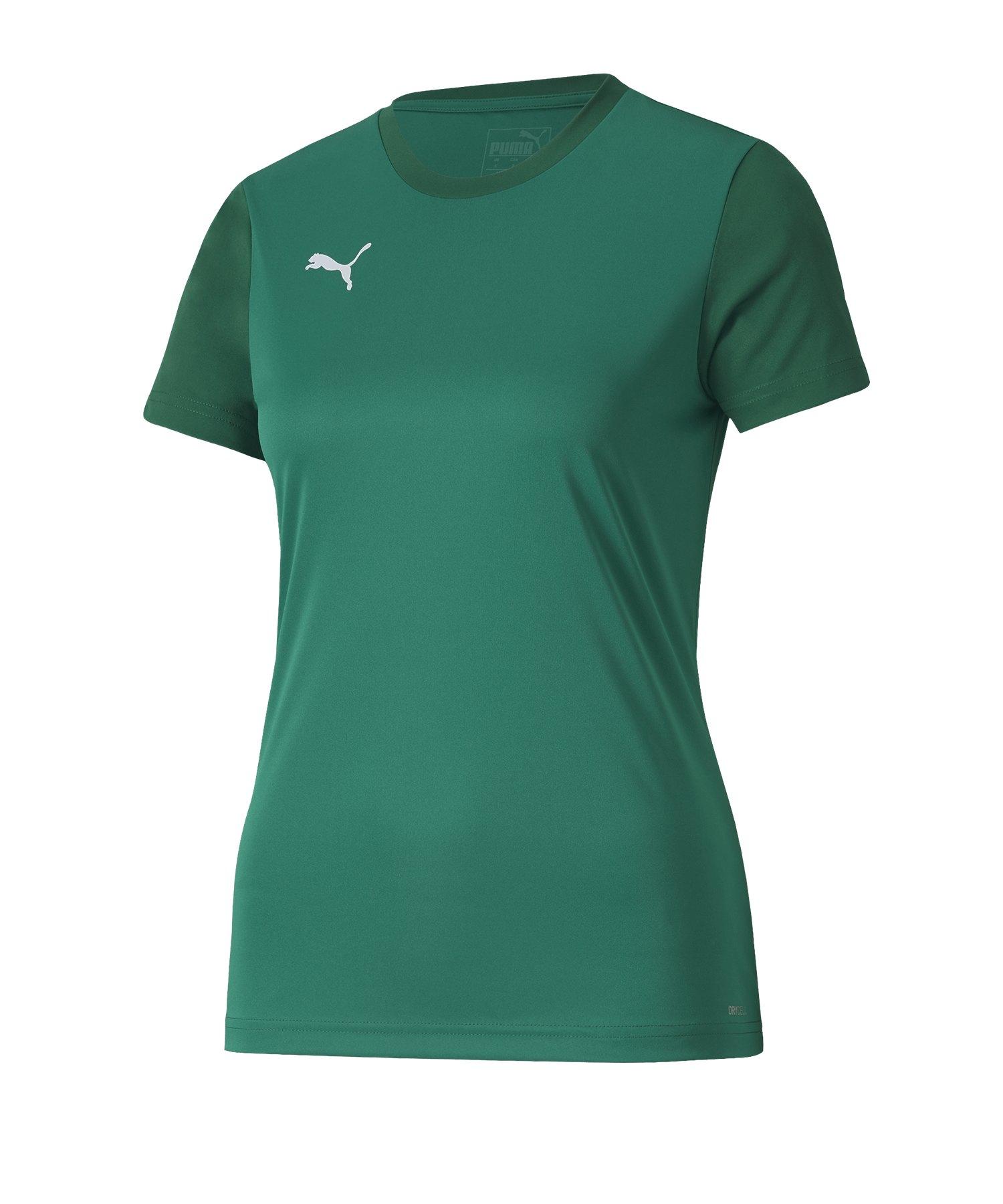 PUMA teamGOAL 23 Sideline Tee T-Shirt Damen F05 - Gruen
