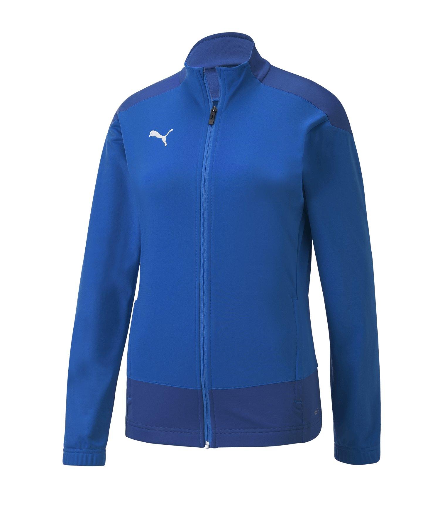 PUMA teamGOAL 23 Training Polyesterjacke Damen F02 - blau