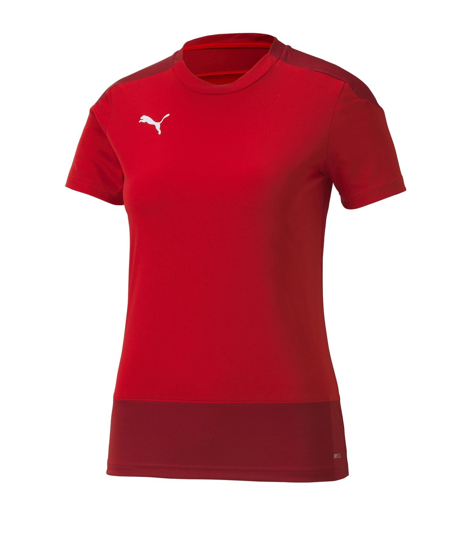 PUMA teamGOAL 23 Training Trikot Damen Rot F01 - rot