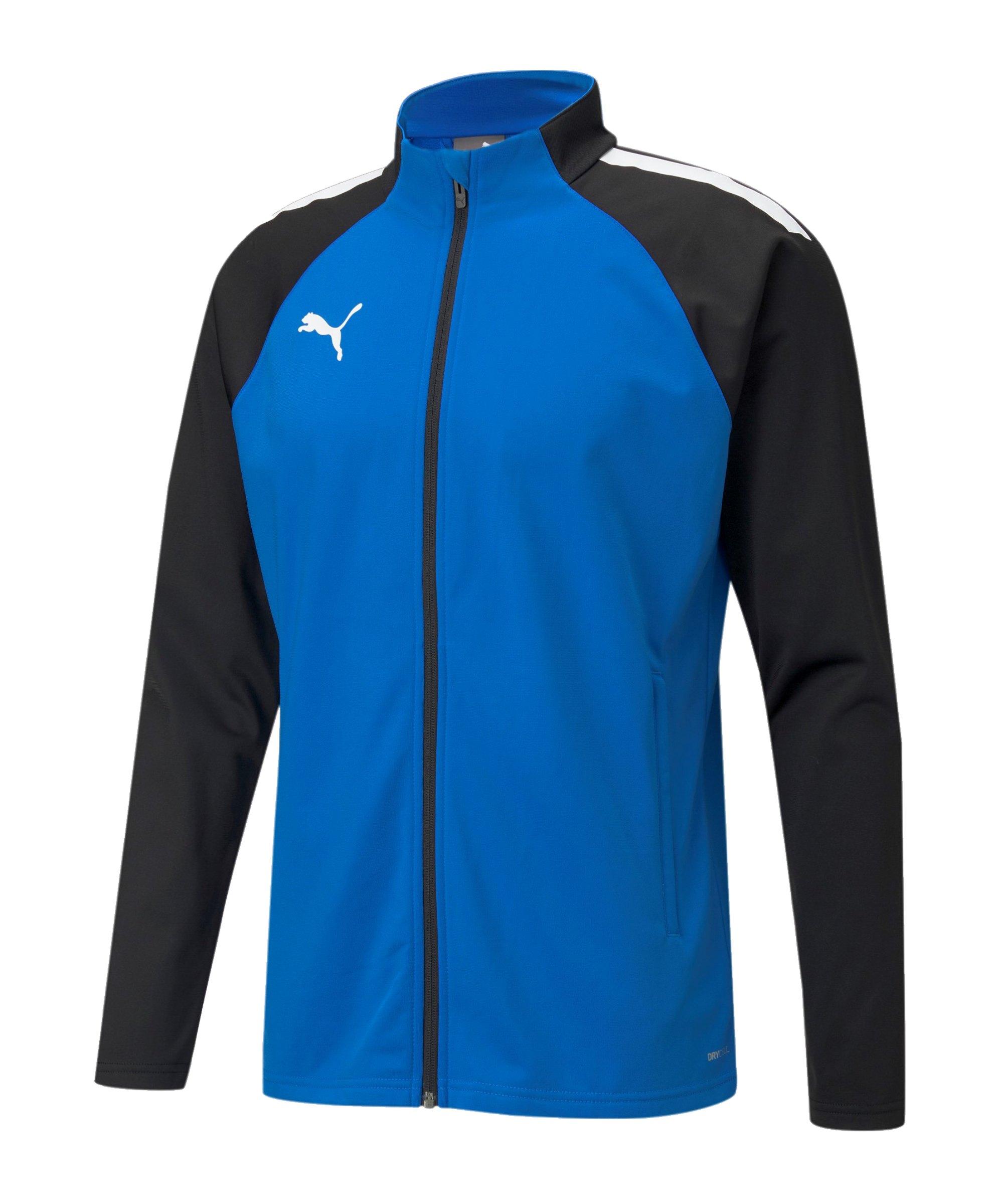 PUMA teamLIGA Trainingsjacke Blau F02 - blau