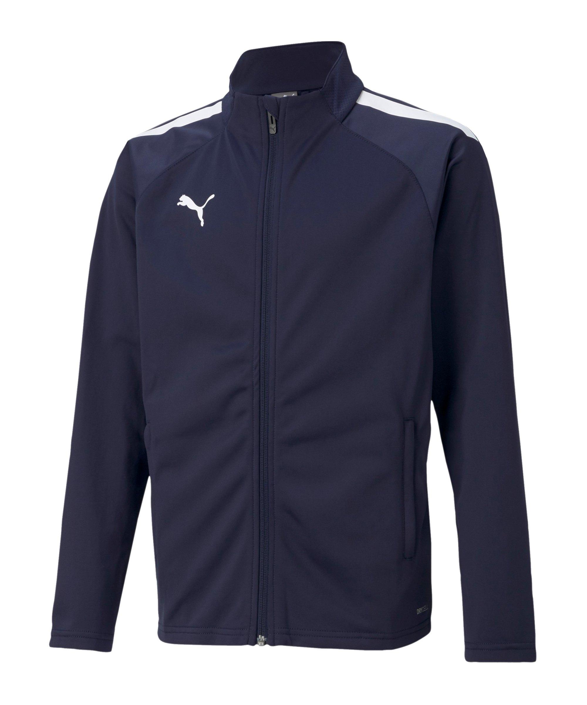 PUMA teamLIGA Trainingsjacke Blau F06 - blau