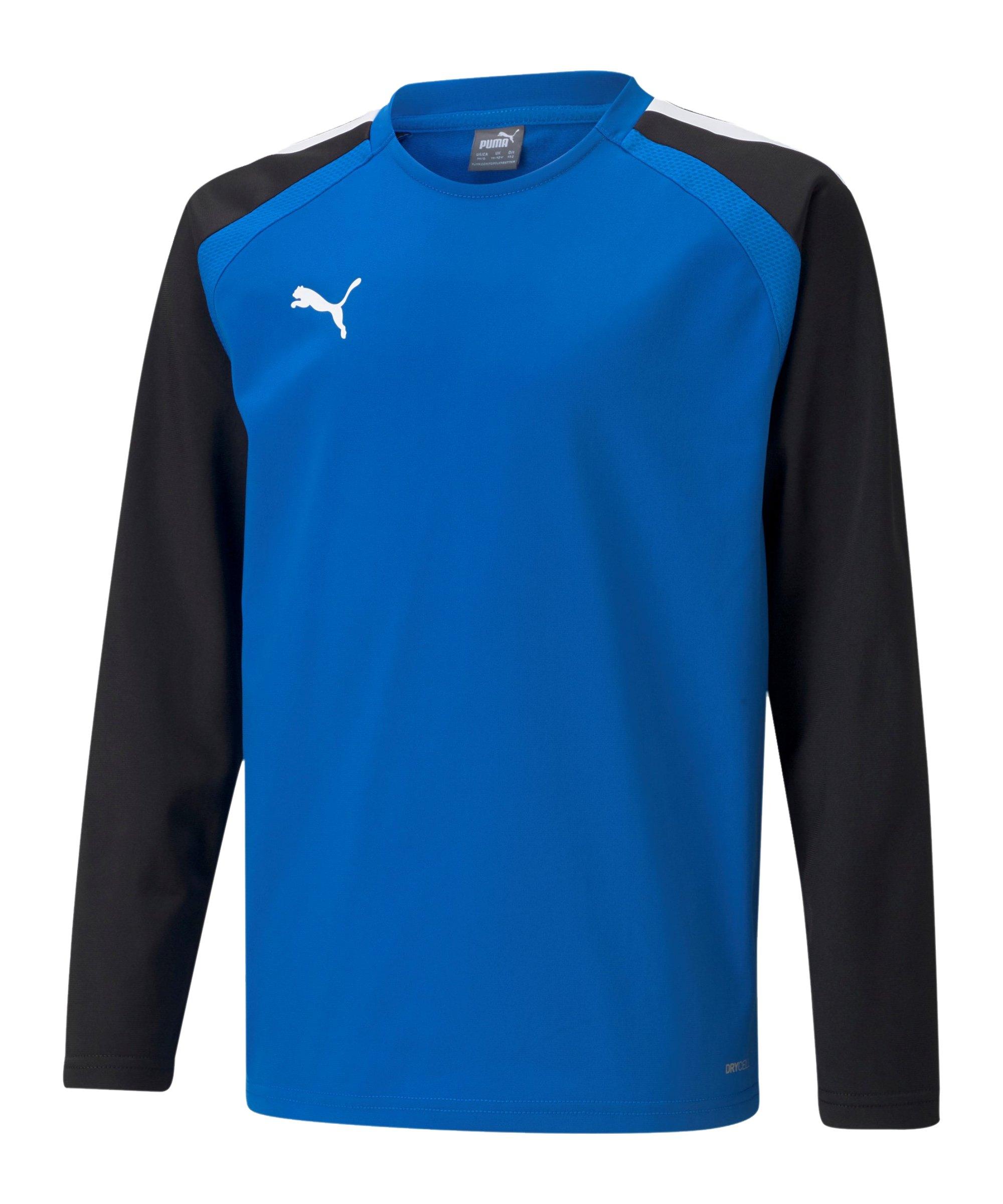 PUMA teamLIGA Sweatshirt Kids Blau F02 - blau
