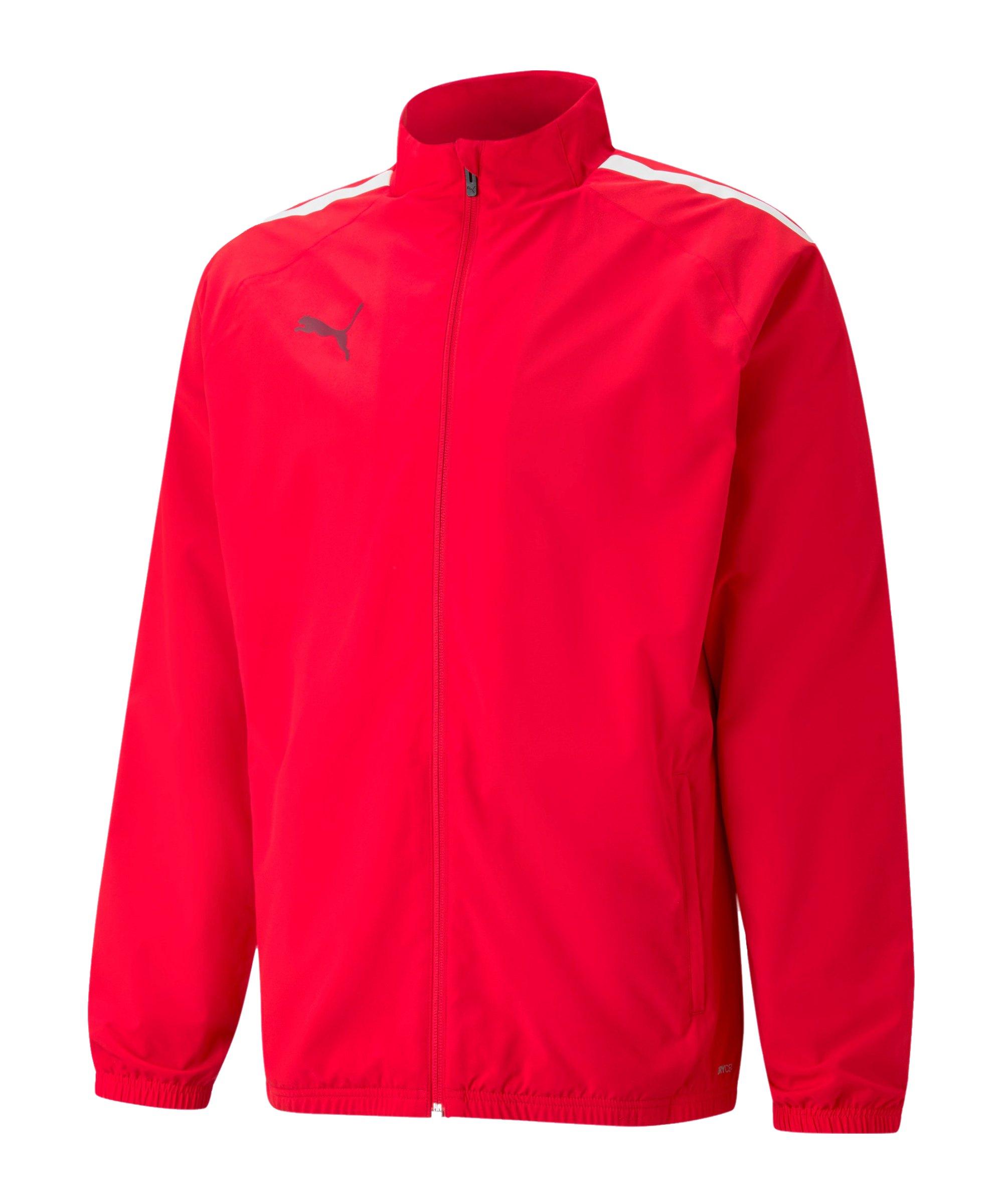 PUMA teamLIGA Sideline Jacke Rot F01 - rot