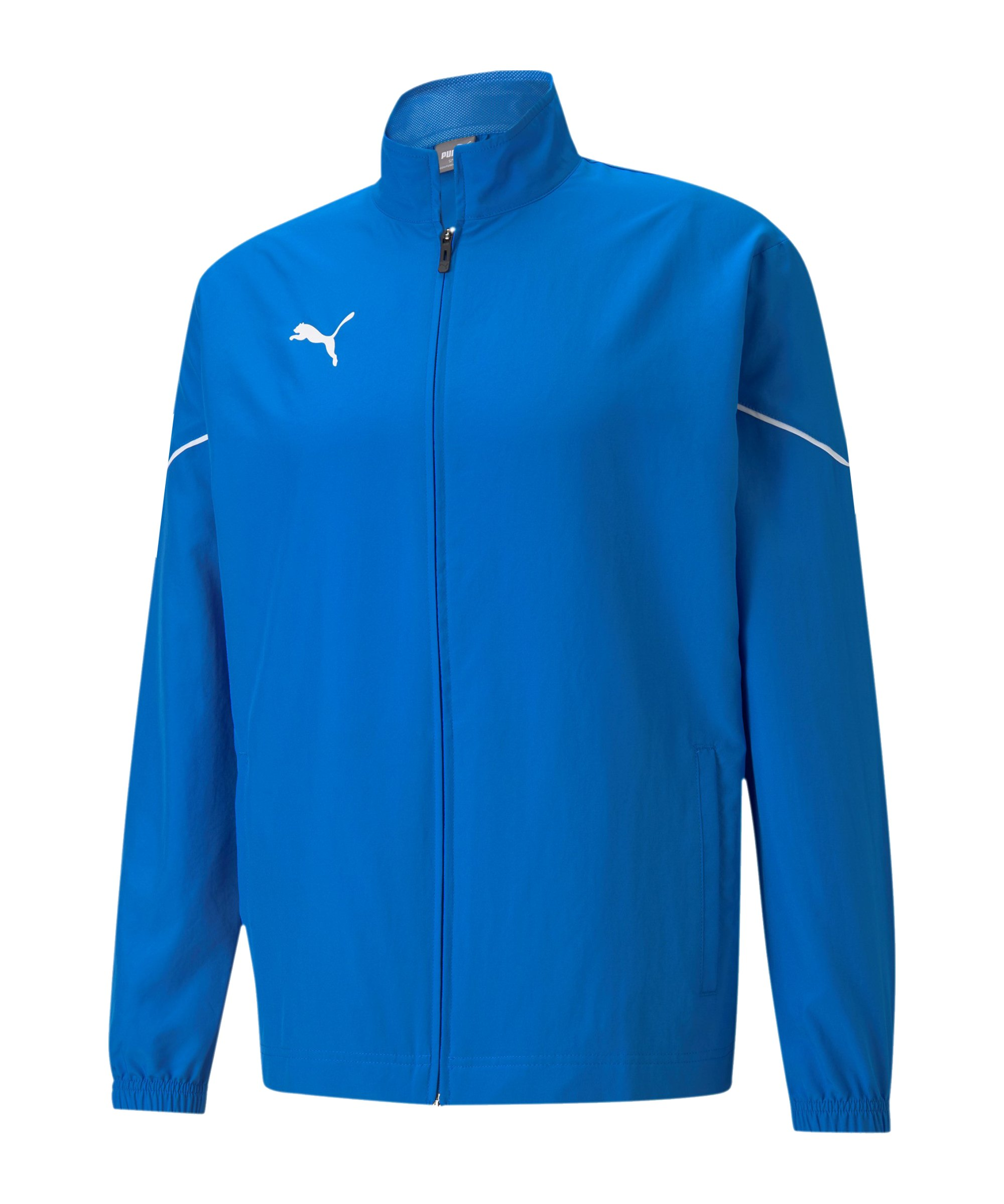 PUMA teamRISE Sideline Trainingsjacke Blau F02 - blau