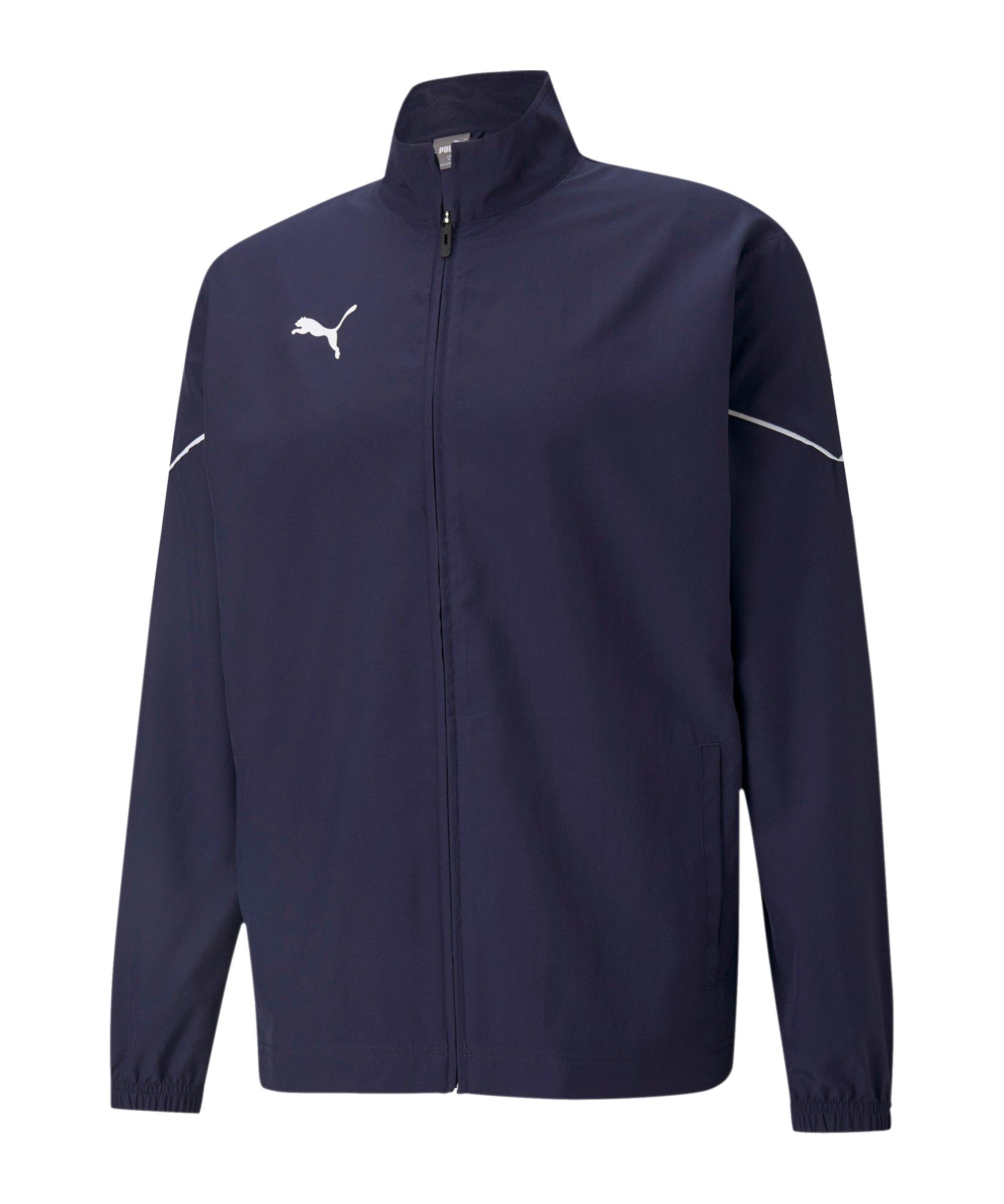 PUMA teamRISE Sideline Trainingsjacke Blau F06 - blau