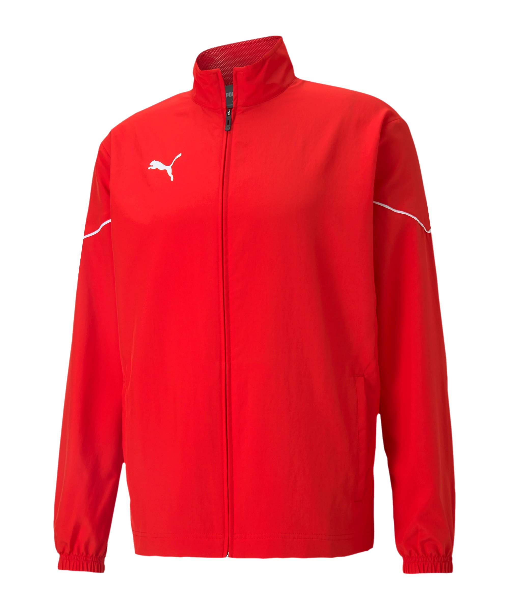 PUMA teamRISE Sideline Trainingsjacke Rot F01 - rot