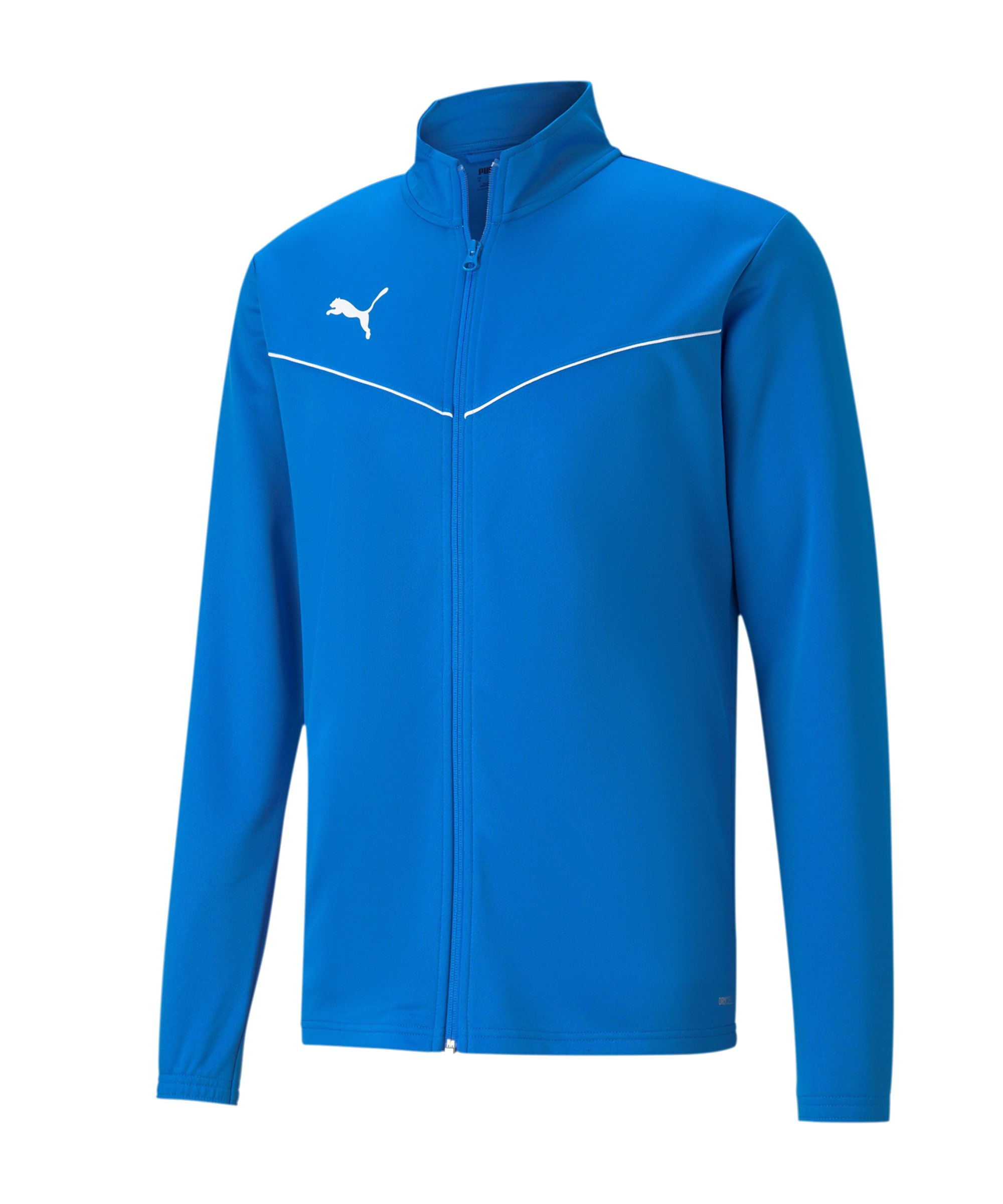 PUMA teamRISE Poly Trainingsjacke Blau F02 - blau