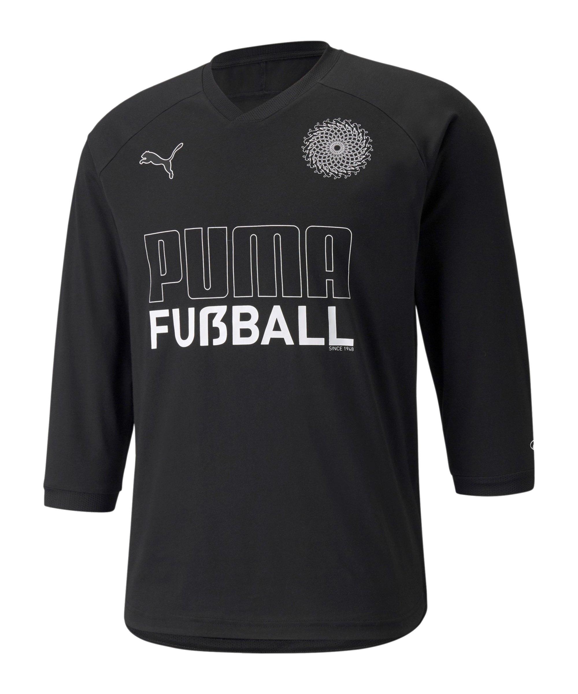 PUMA FUSSBALL KING T-Shirt Schwarz F03 - schwarz