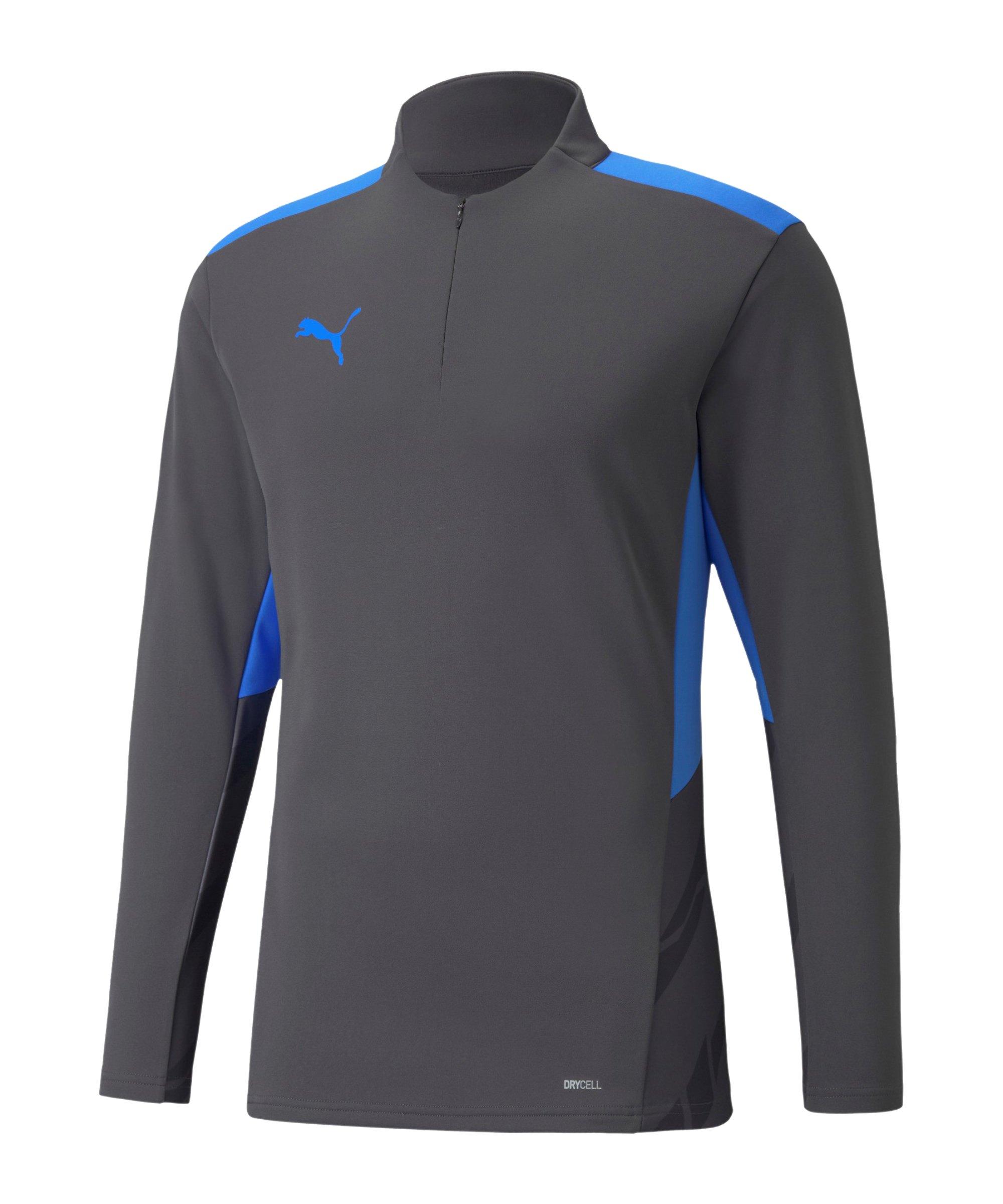 PUMA individualCUP HalfZip Sweatshirt Grau F44 - grau