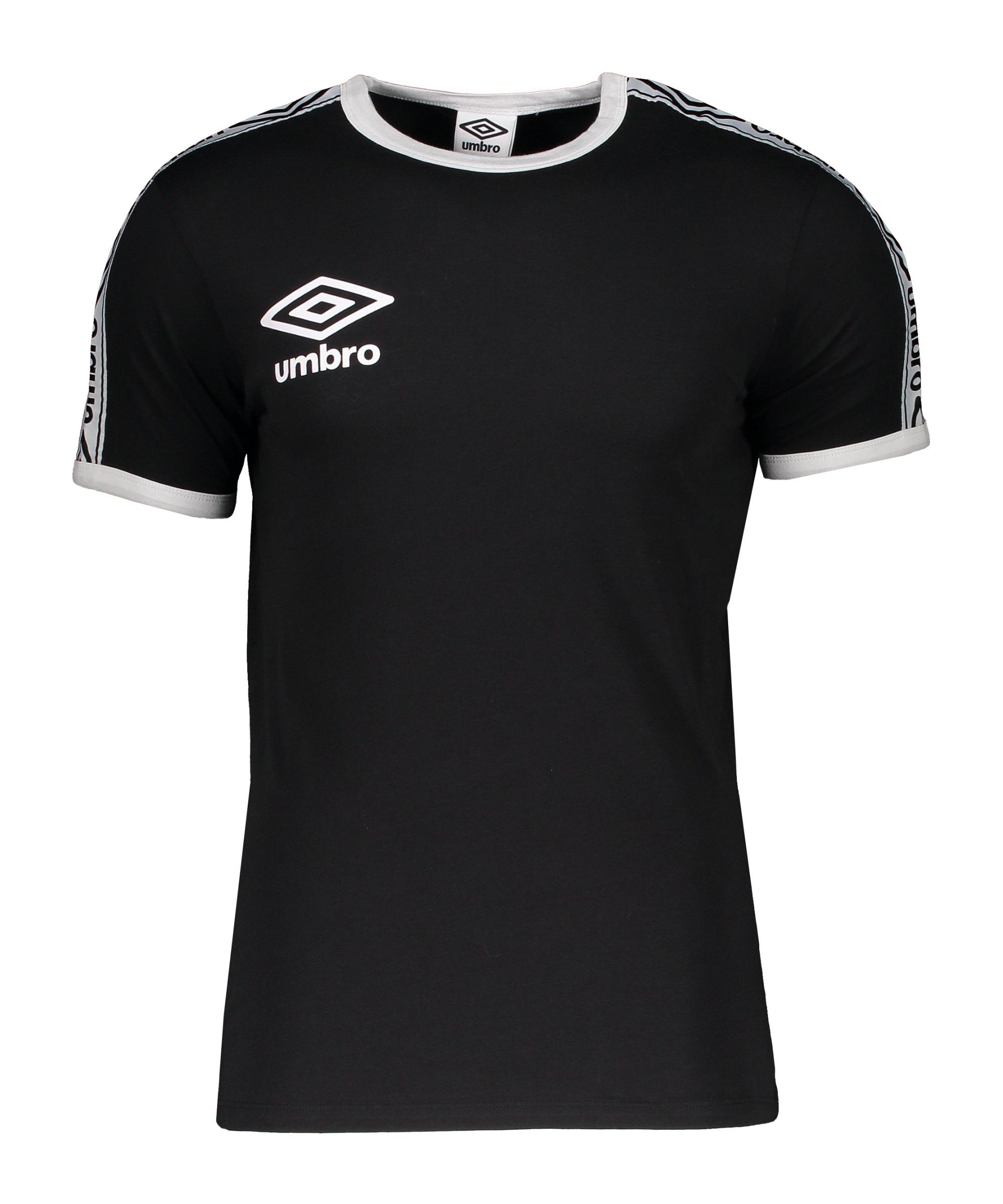 Umbro Ringer T-Shirt Schwarz FFL3 - schwarz