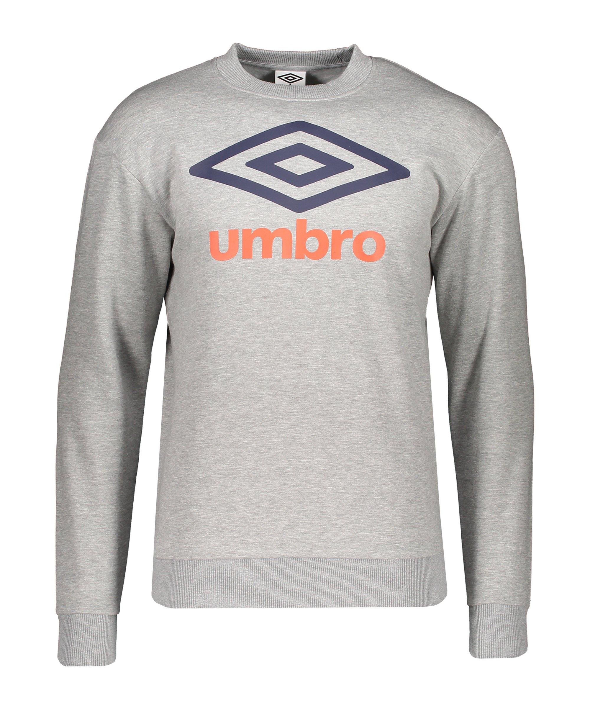 Umbro Large Logo Sweatshirt Grau FJGG - grau