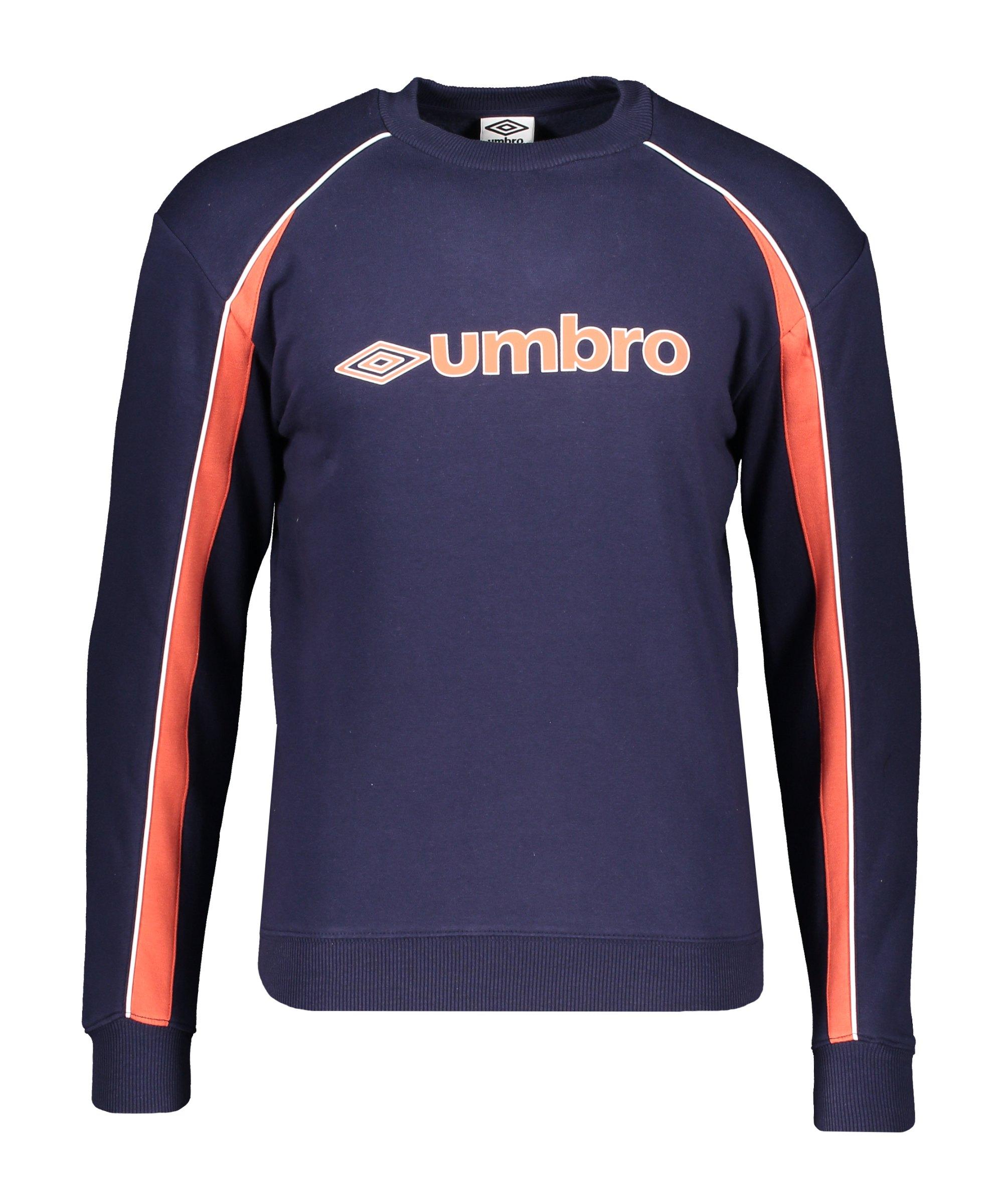 Umbro Branded Panelled Sweatshirt Blau FJGL - blau