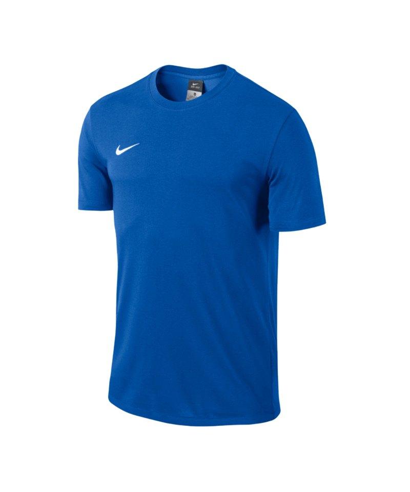 Nike Blend Tee Team Club Kinder F463 Blau - blau