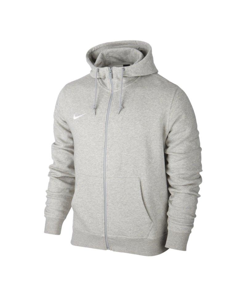 huge sale best authentic reputable site Nike Fullzip Hoody Jacke Team Club F050 Grau