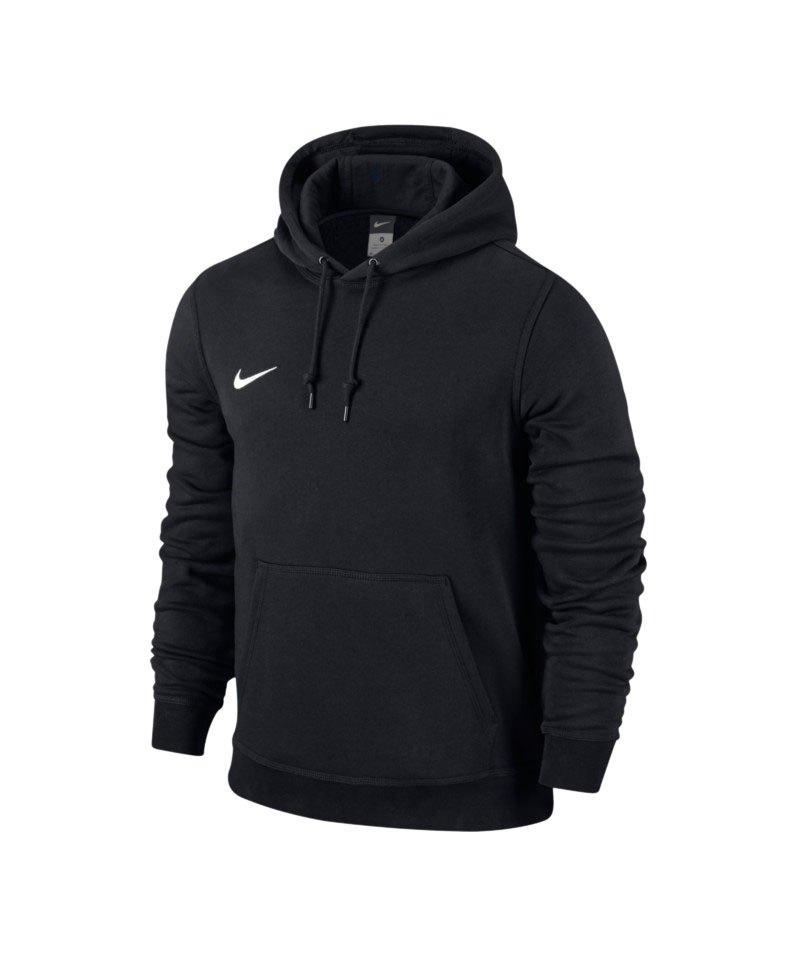 Nike Team Club Hoody Sweatshirt F010 Schwarz - schwarz