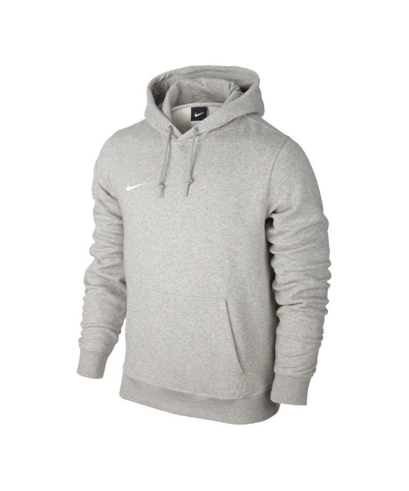 Nike Team Club Hoody Sweatshirt F050 Grau - grau