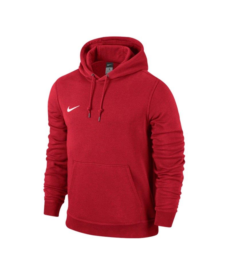 Nike Team Club Hoody Sweatshirt F657 Rot