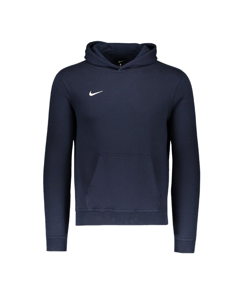 Nike Team Club Hoody Kids F451 Blau - blau