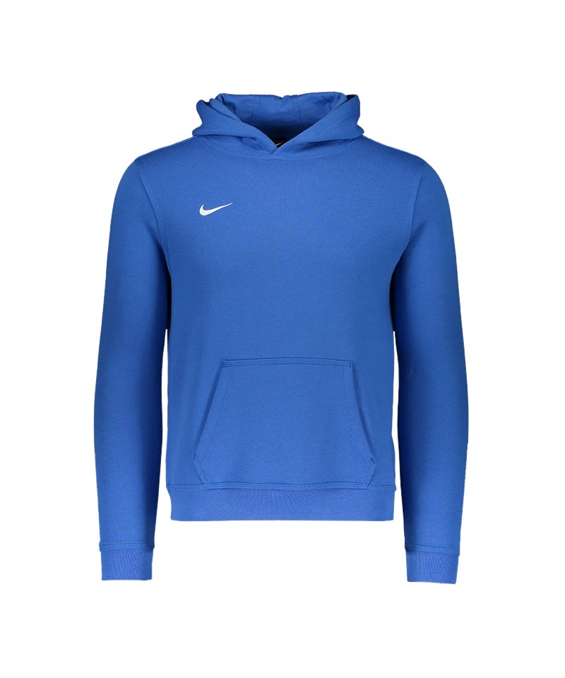 Nike Team Club Hoody Kids F463 Blau - blau