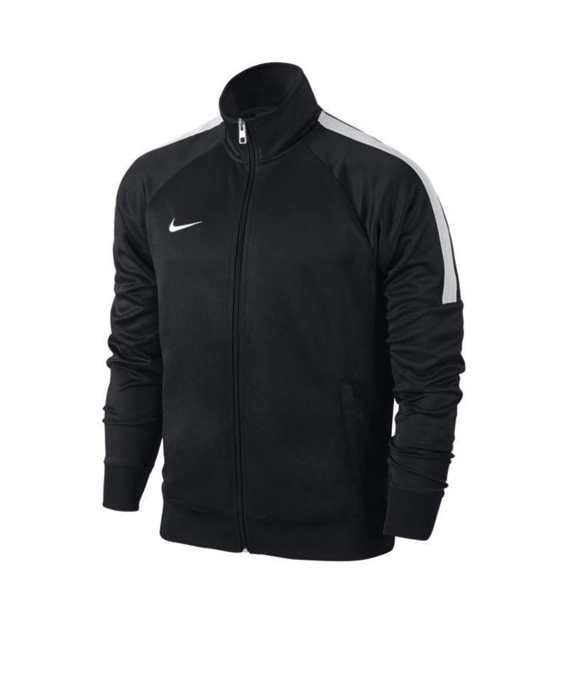 Nike Trainer Jacke Team Club Kinder F010 Schwarz - schwarz