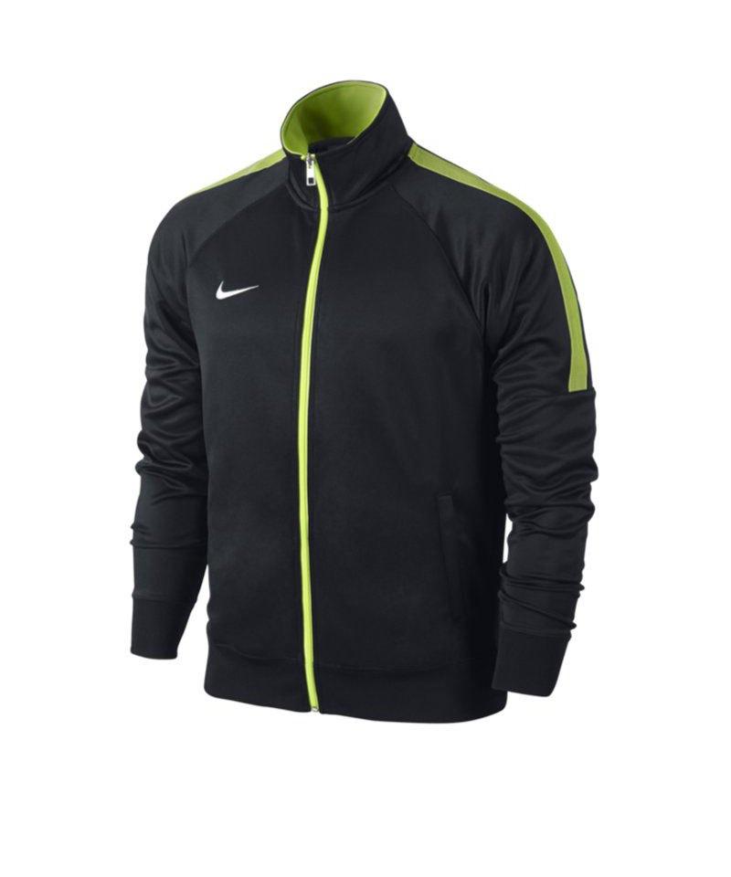 Nike Trainer Jacke Team Club Kinder F011 Schwarz - schwarz