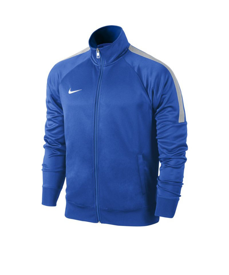 Nike Trainer Jacke Team Club Kinder F463 Blau - blau