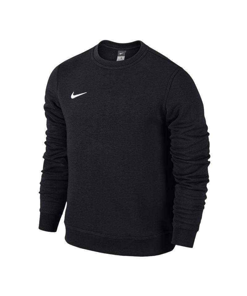 Nike Crew Sweatshirt Team Club Kinder F010 Schwarz - schwarz