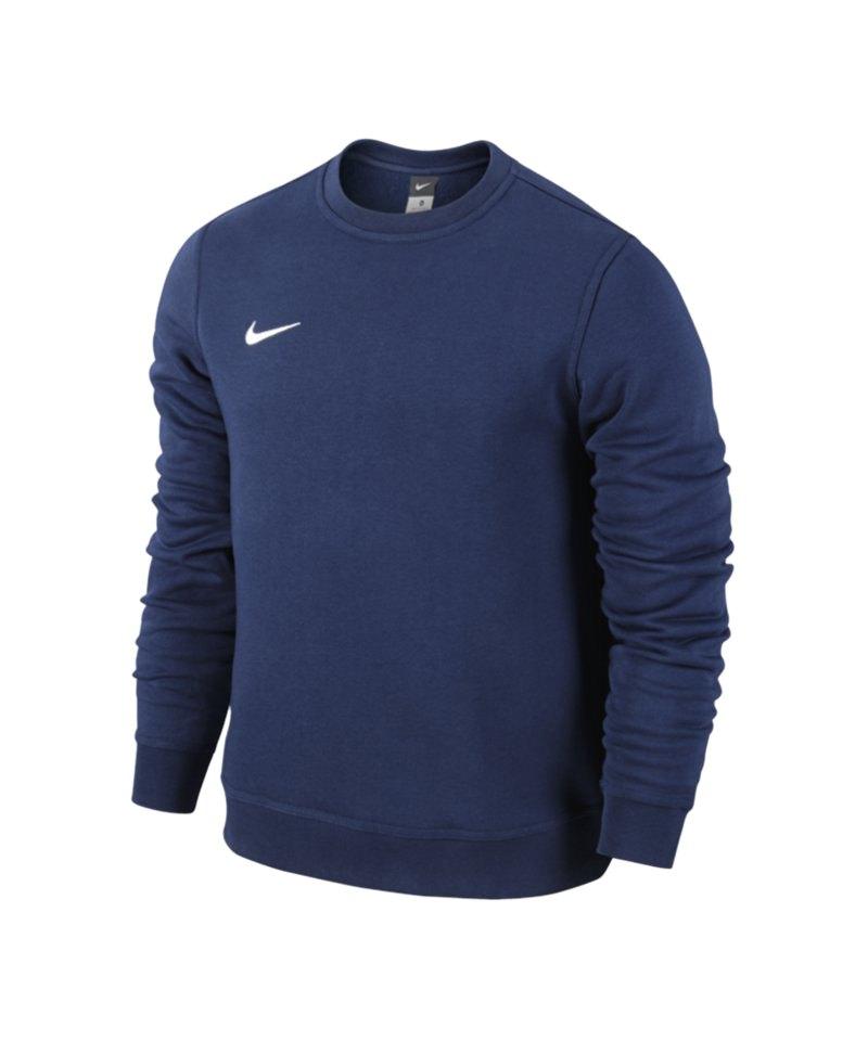 Nike Crew Sweatshirt Team Club Kinder F451 Blau - blau