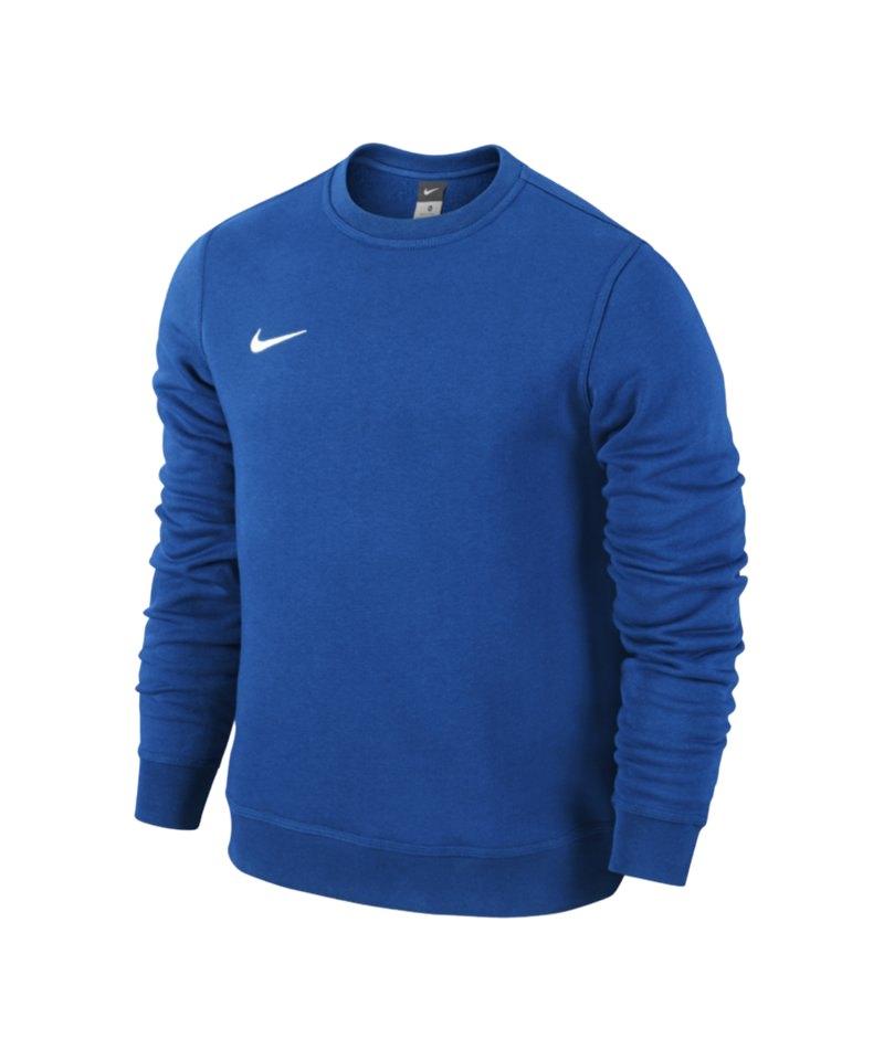 Nike Crew Sweatshirt Team Club Kinder F463 Blau - blau