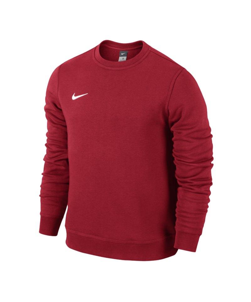 Nike Crew Sweatshirt Team Club Kinder F657 Rot - rot
