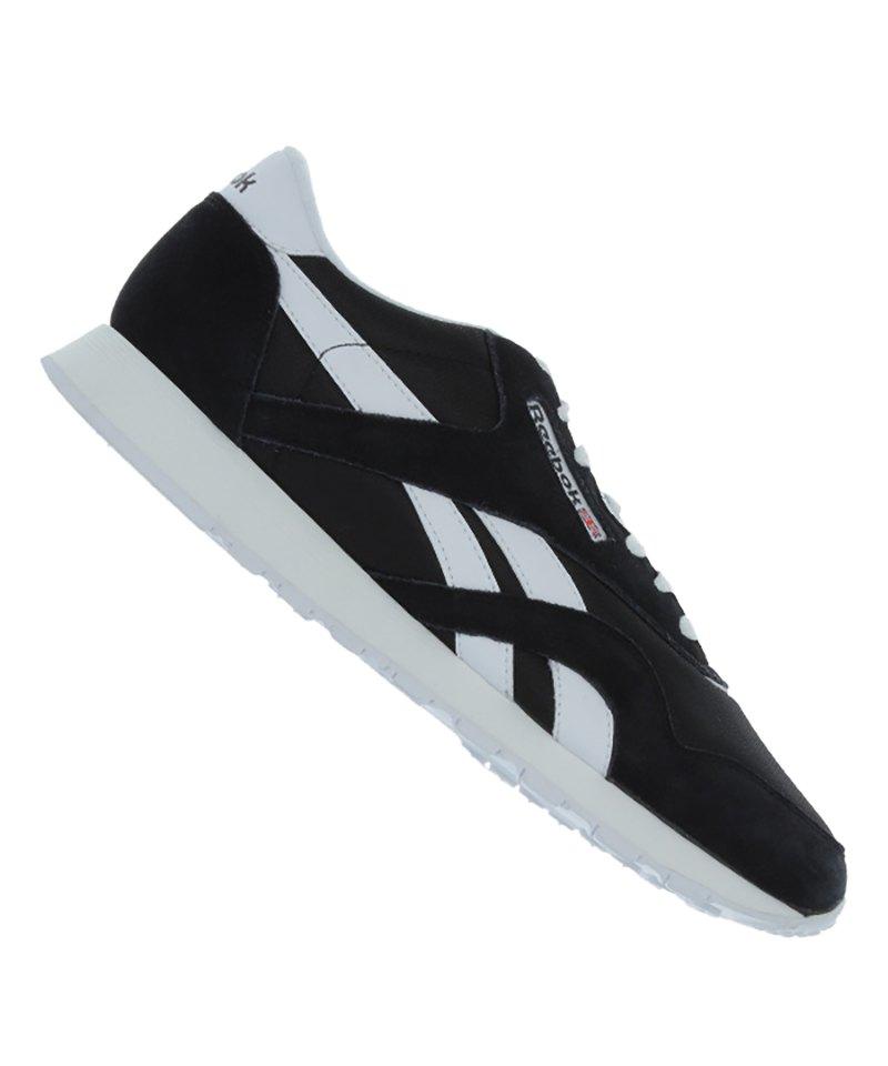 Reebok Sneaker Classic Nylon Schwarz - schwarz