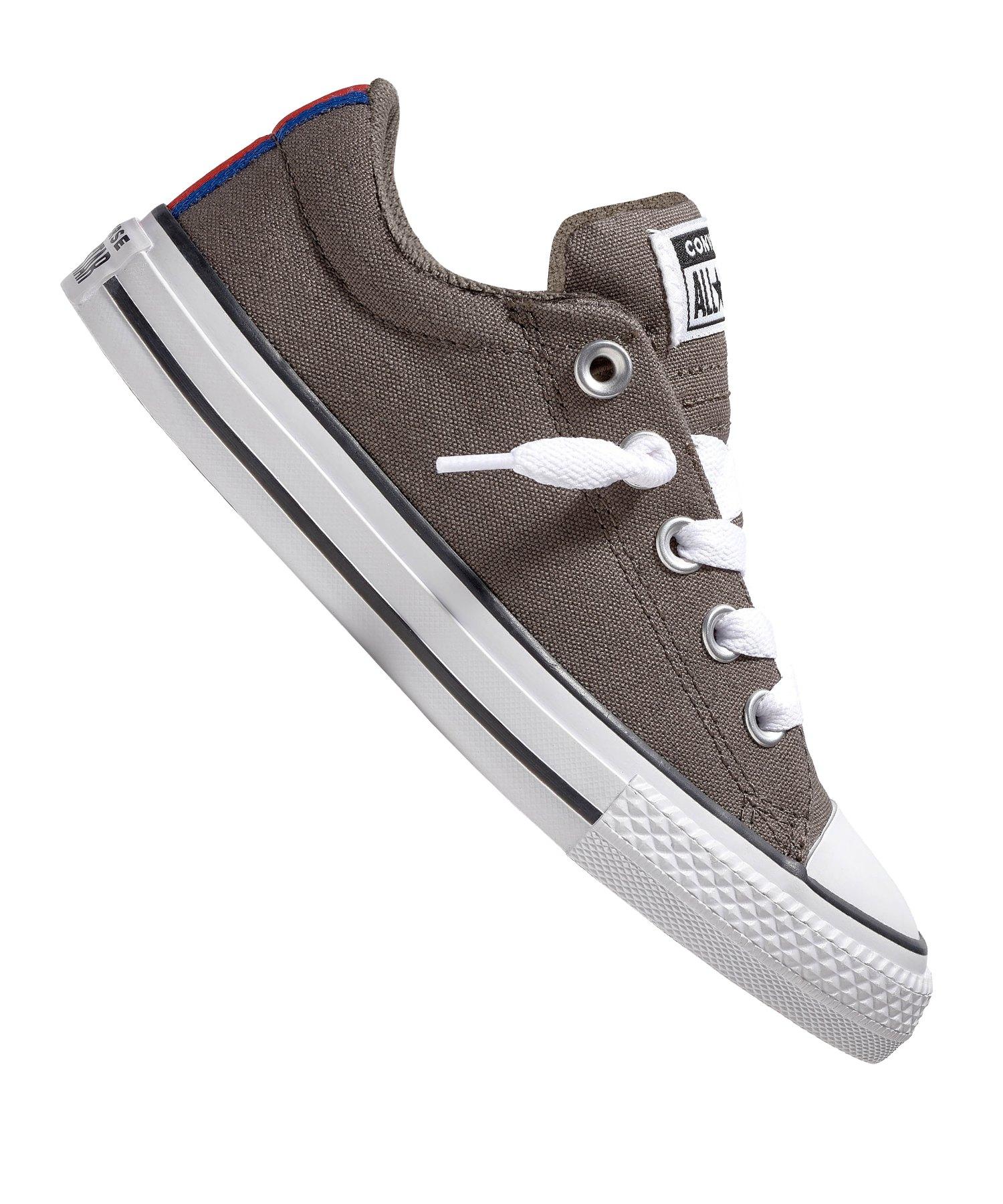 Converse Street Slip Sneaker Kids Braun F030 - braun