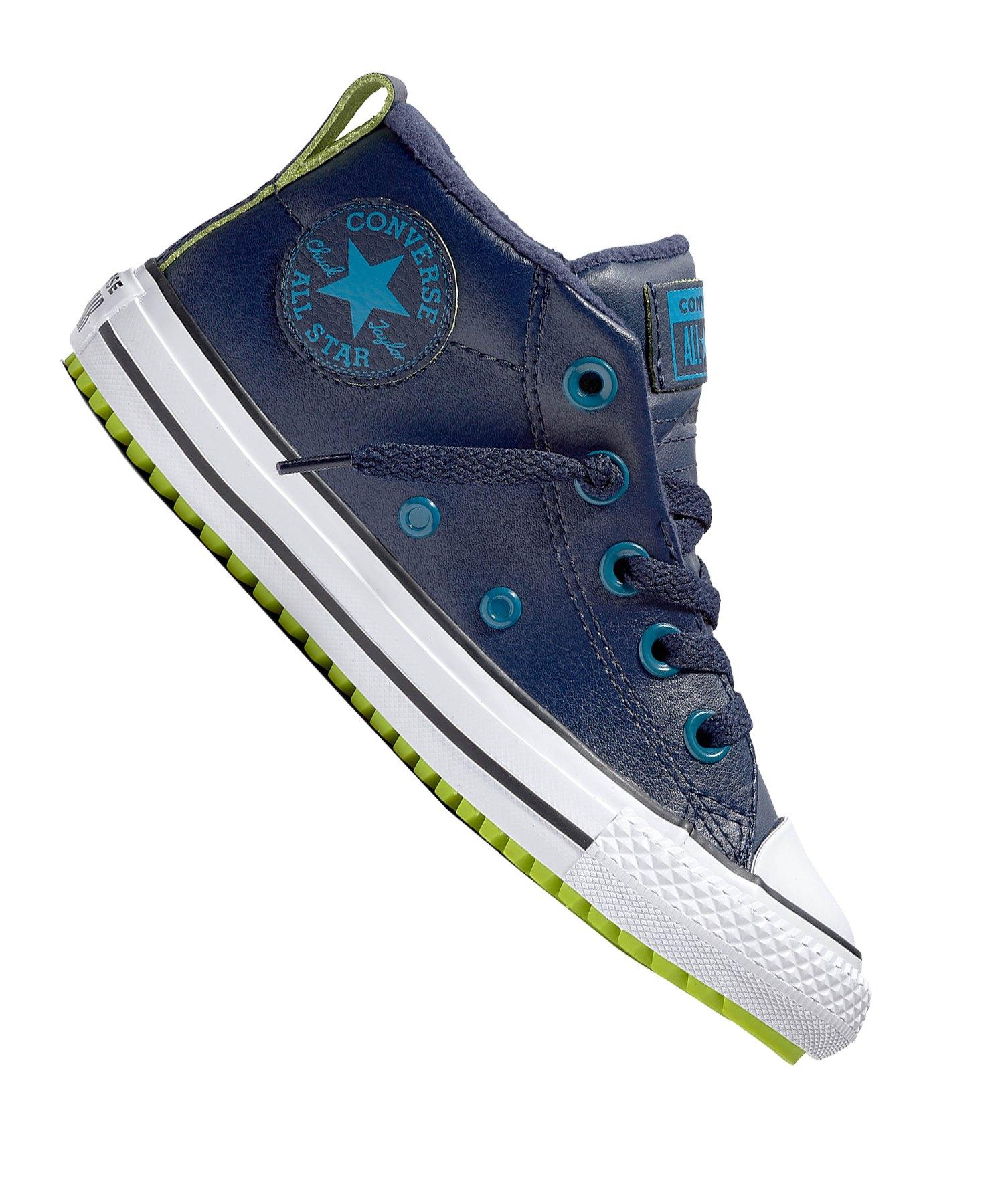 Converse Chuck Taylor AS Street Sneaker Kids Blau - blau
