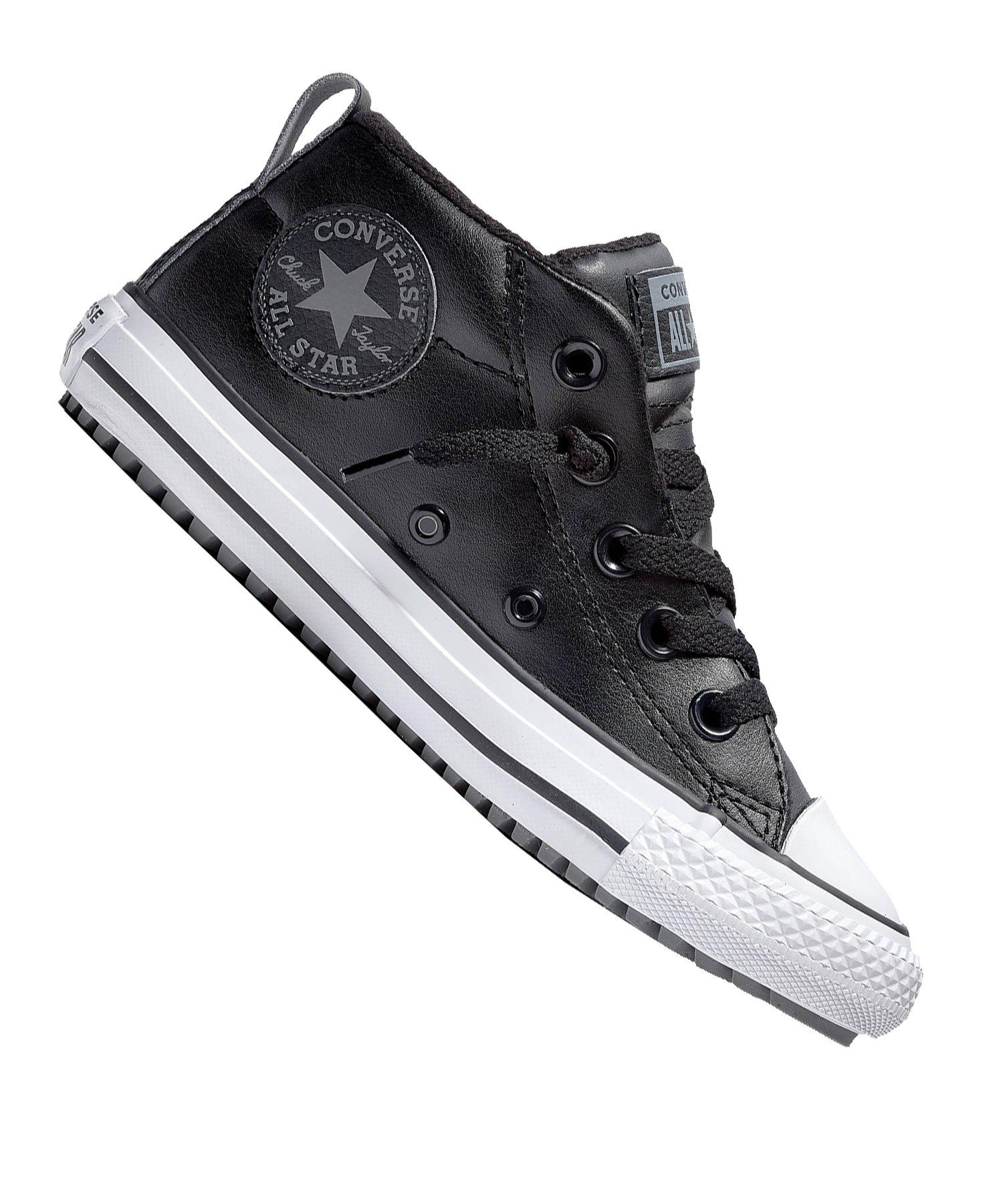 Converse Chuck Taylor Street Sneaker Kids Schwarz - schwarz