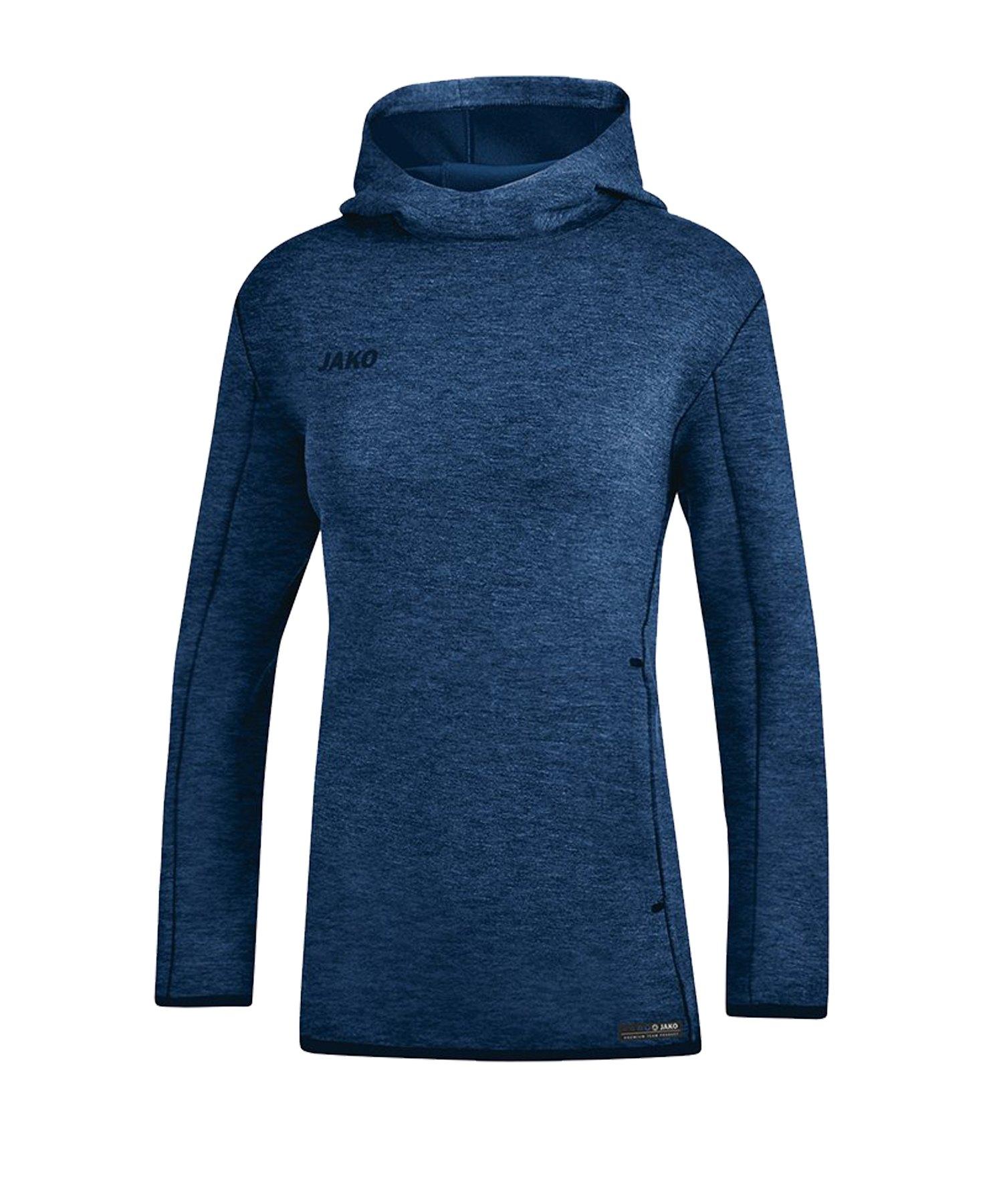 Jako Premium Basic Hoody Damen Blau F49 - blau